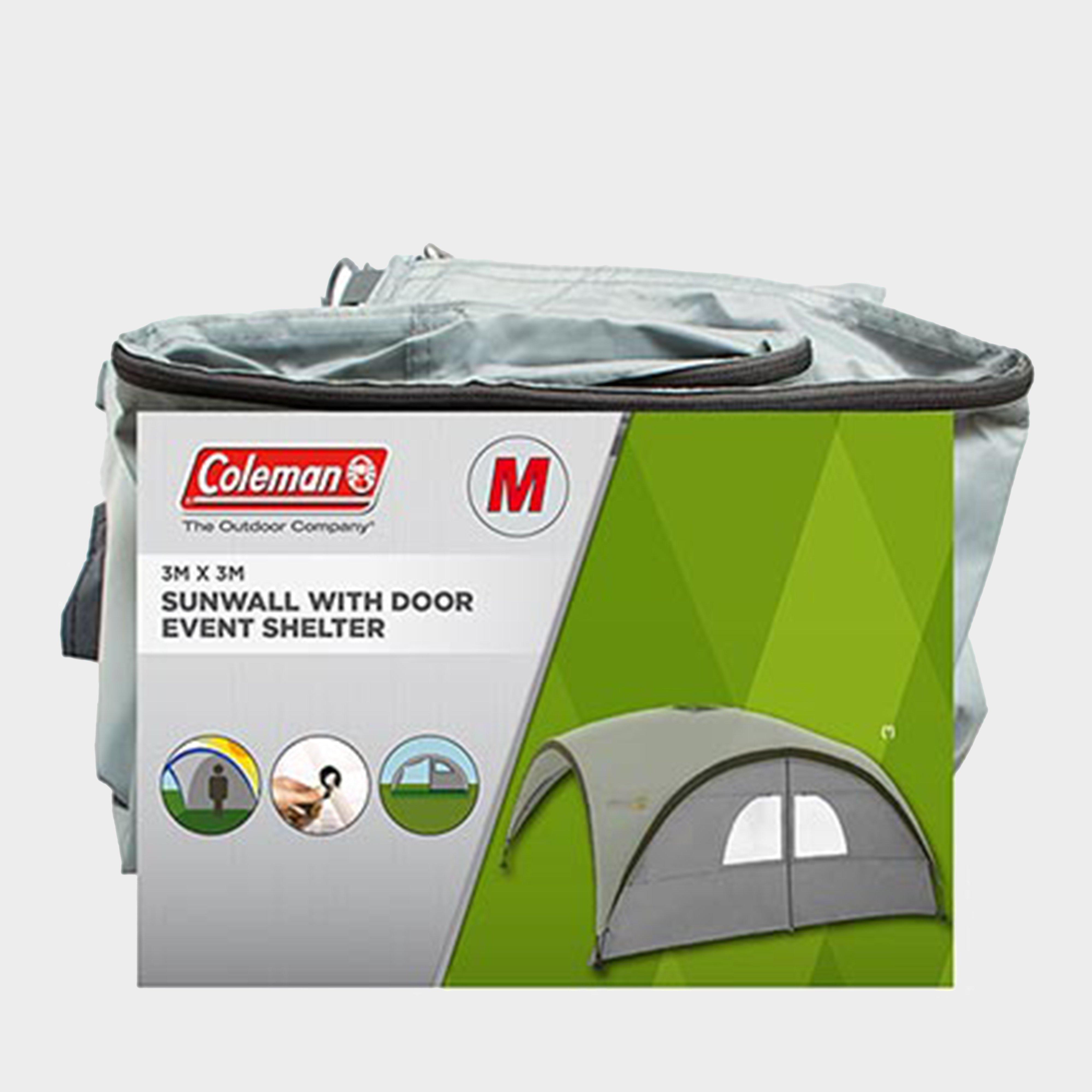 Coleman Event Shelter Pro M Sunwall Door - White/sundo  White/sundo