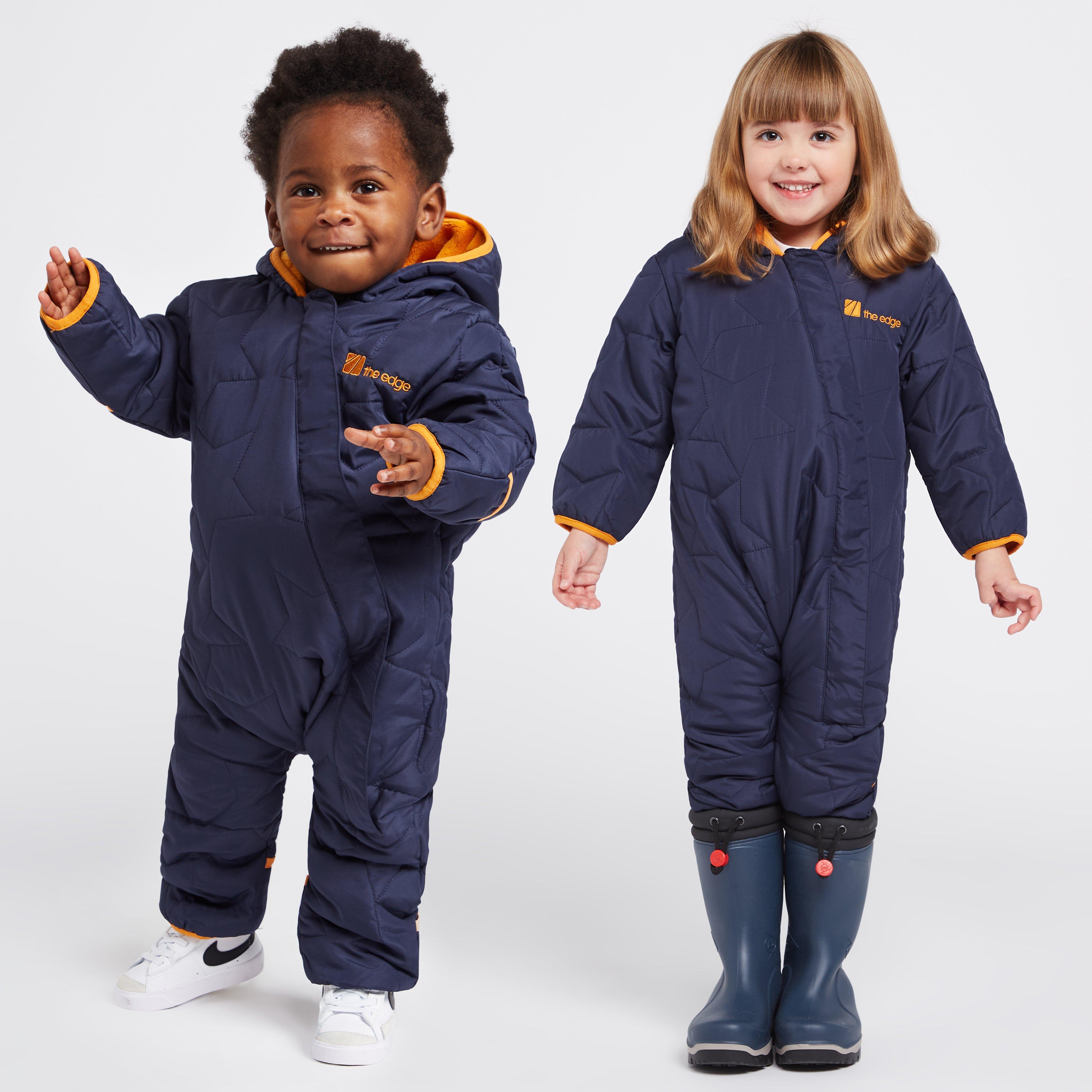 The Edge Childrens Star Snowsuit - Navy/navy  Navy/navy