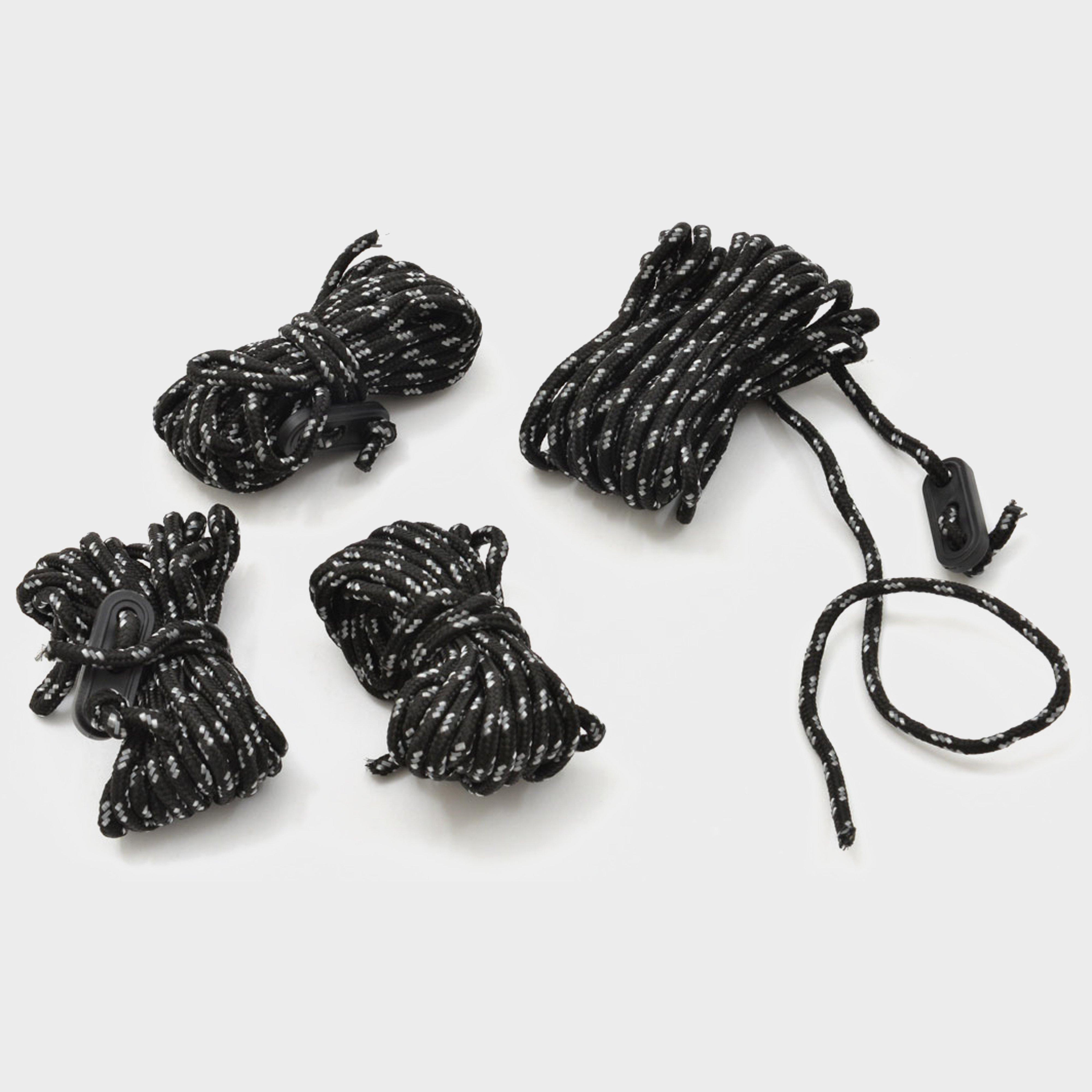 Hi-gear Reflect Ropes - Black/4mmx4m  Black/4mmx4m