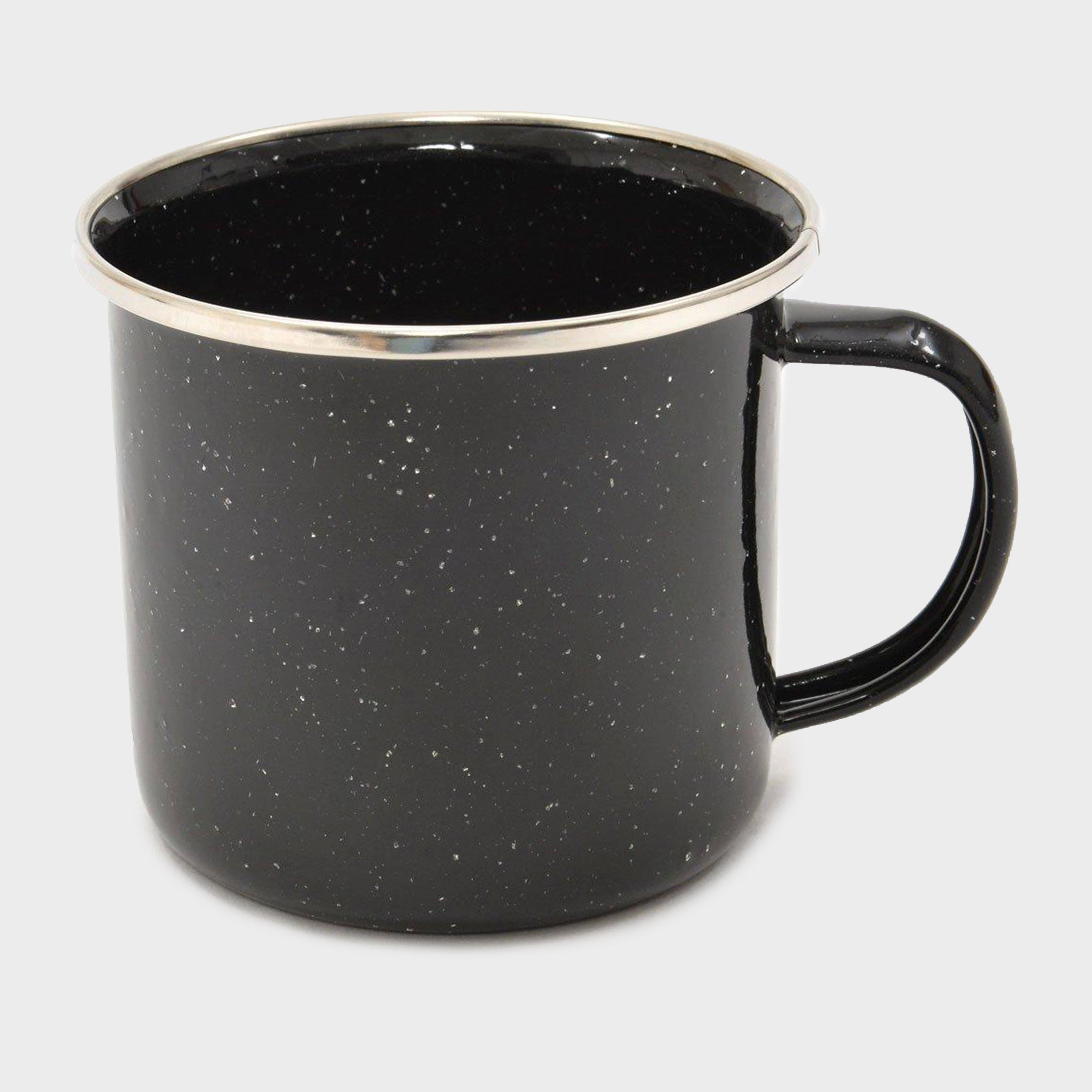 Hi-gear Enamel Cup - Black/12oz  Black/12oz