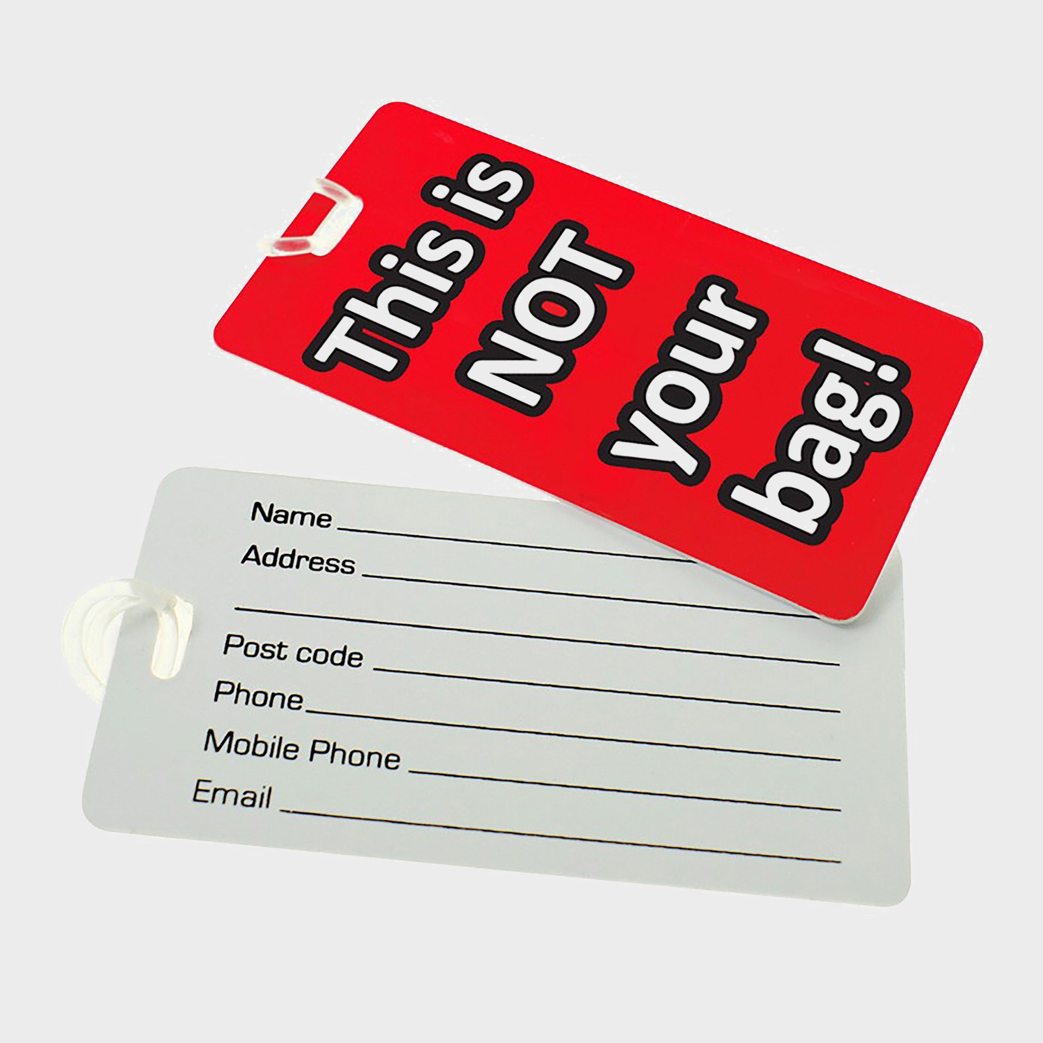 Boyz Toys Novelty Luggage Tags - Multi/asso  Multi/asso