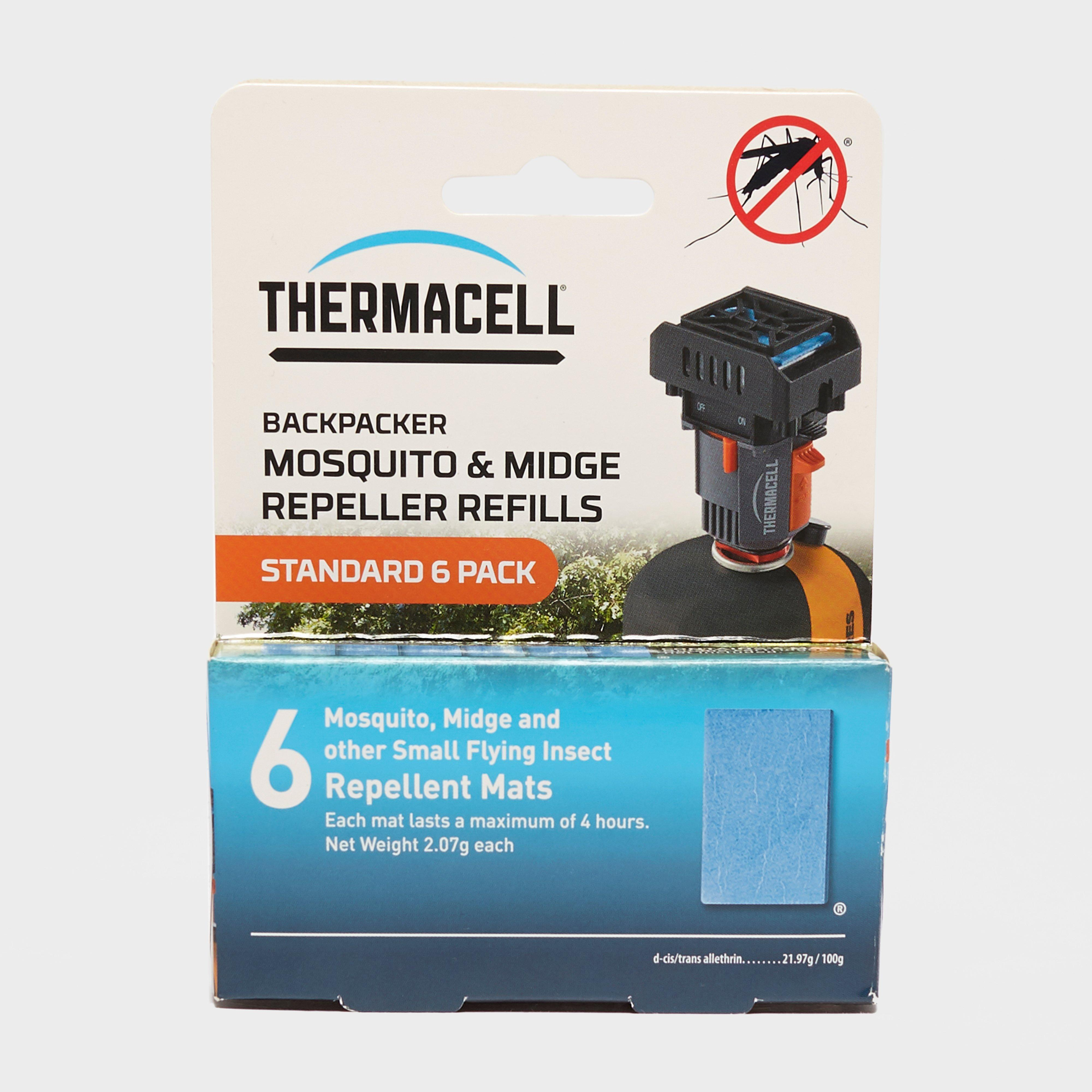 Thermacell Backpacker Mosquito Repellent Refills Mats (6 Pack) - Multi/24hr  Multi/24hr