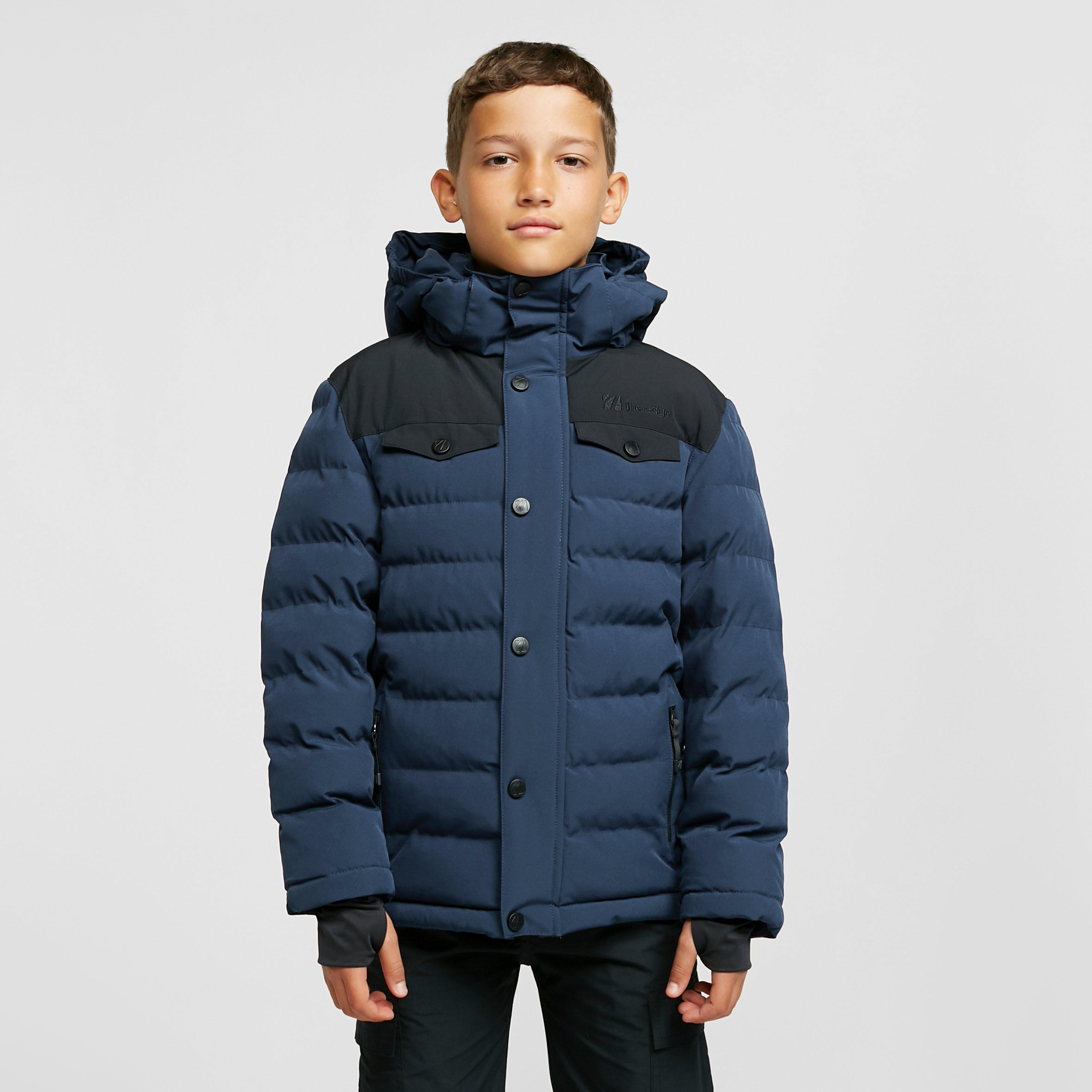 The Edge Kids Banff Insulated Jacket (ages 13-16) - Blue/navy  Blue/navy