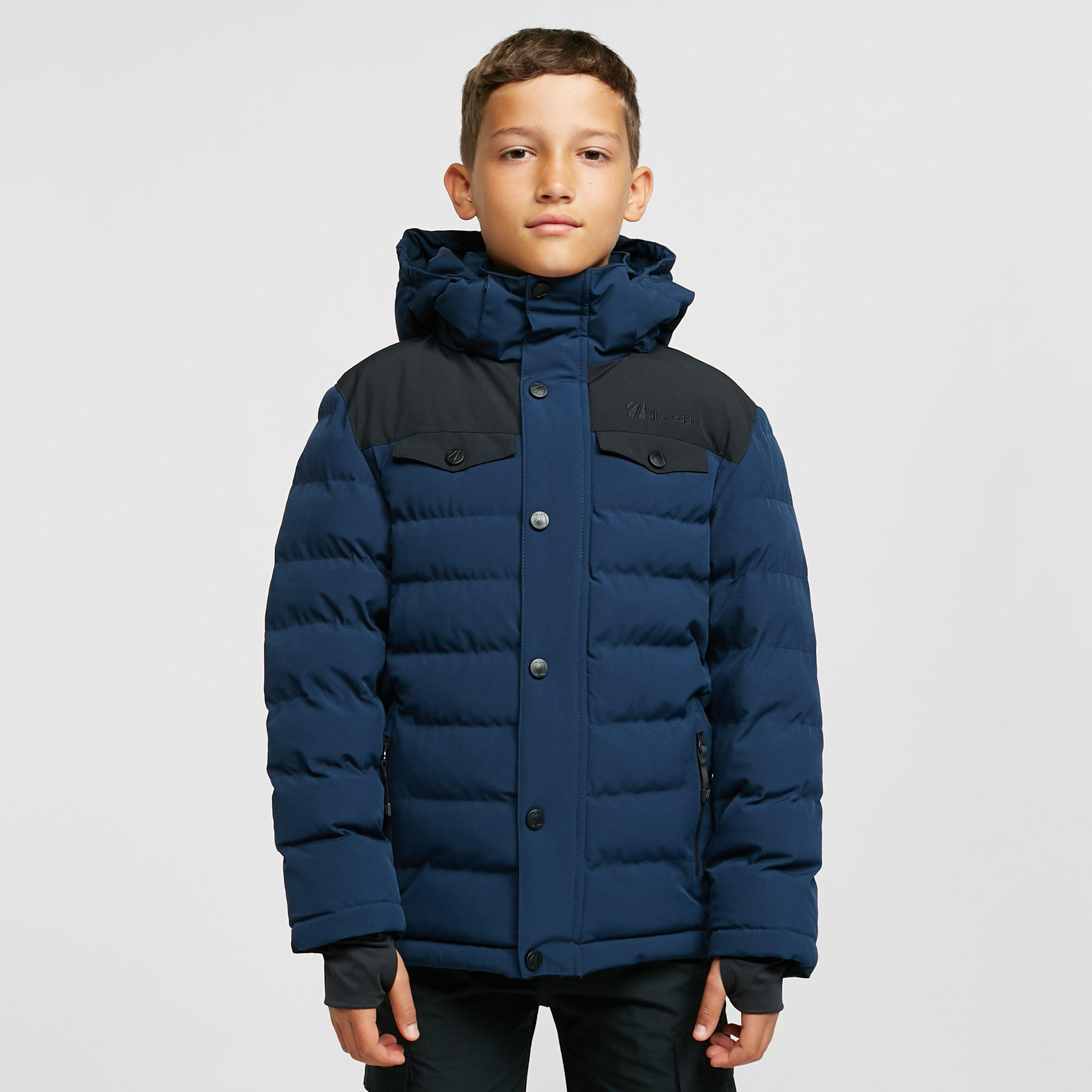 The Edge Kids Banff Insulated Jacket (ages 13-16) - Navy/navy  Navy/navy