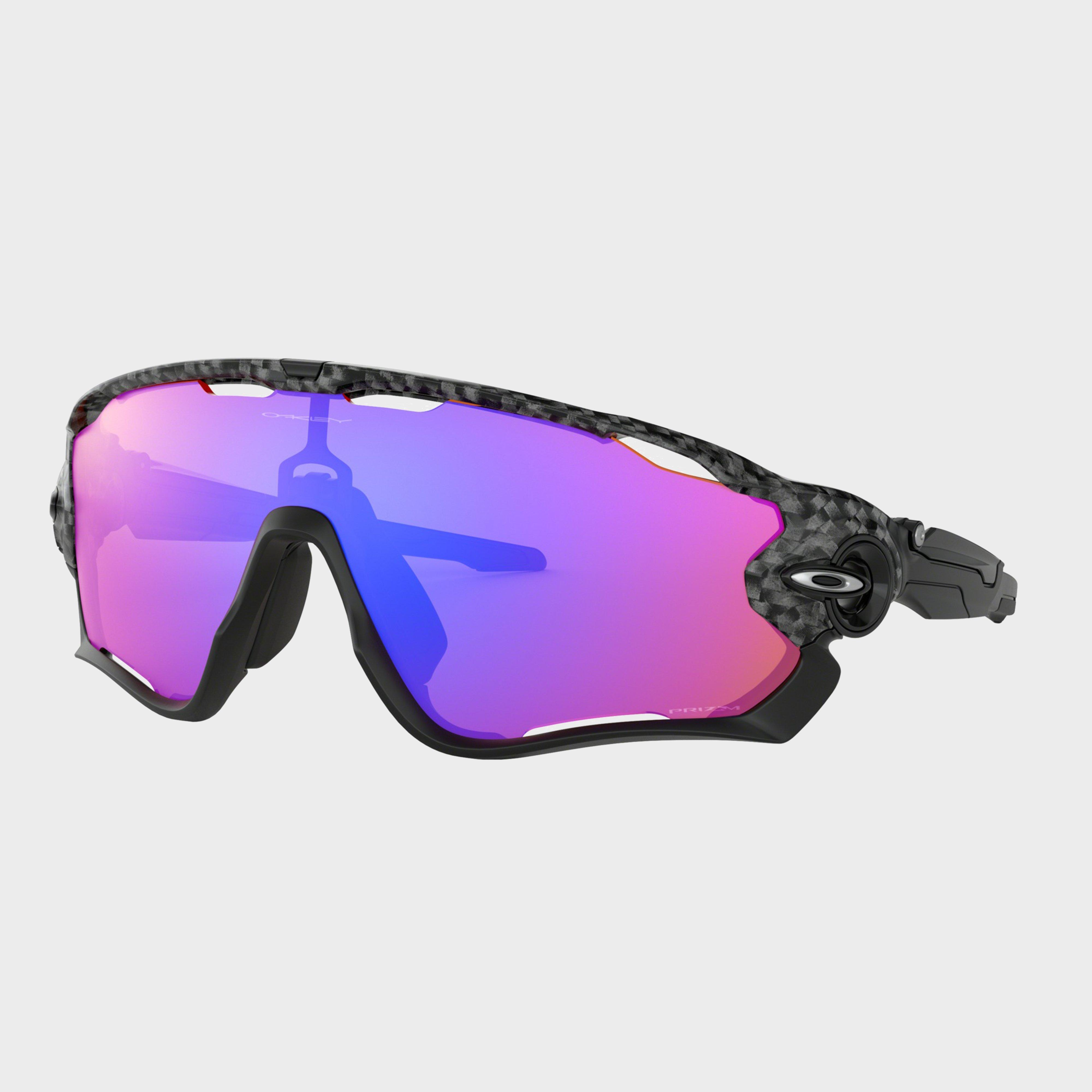 Oakley Jawbreaker Prizm Trail Sunglasses, Black