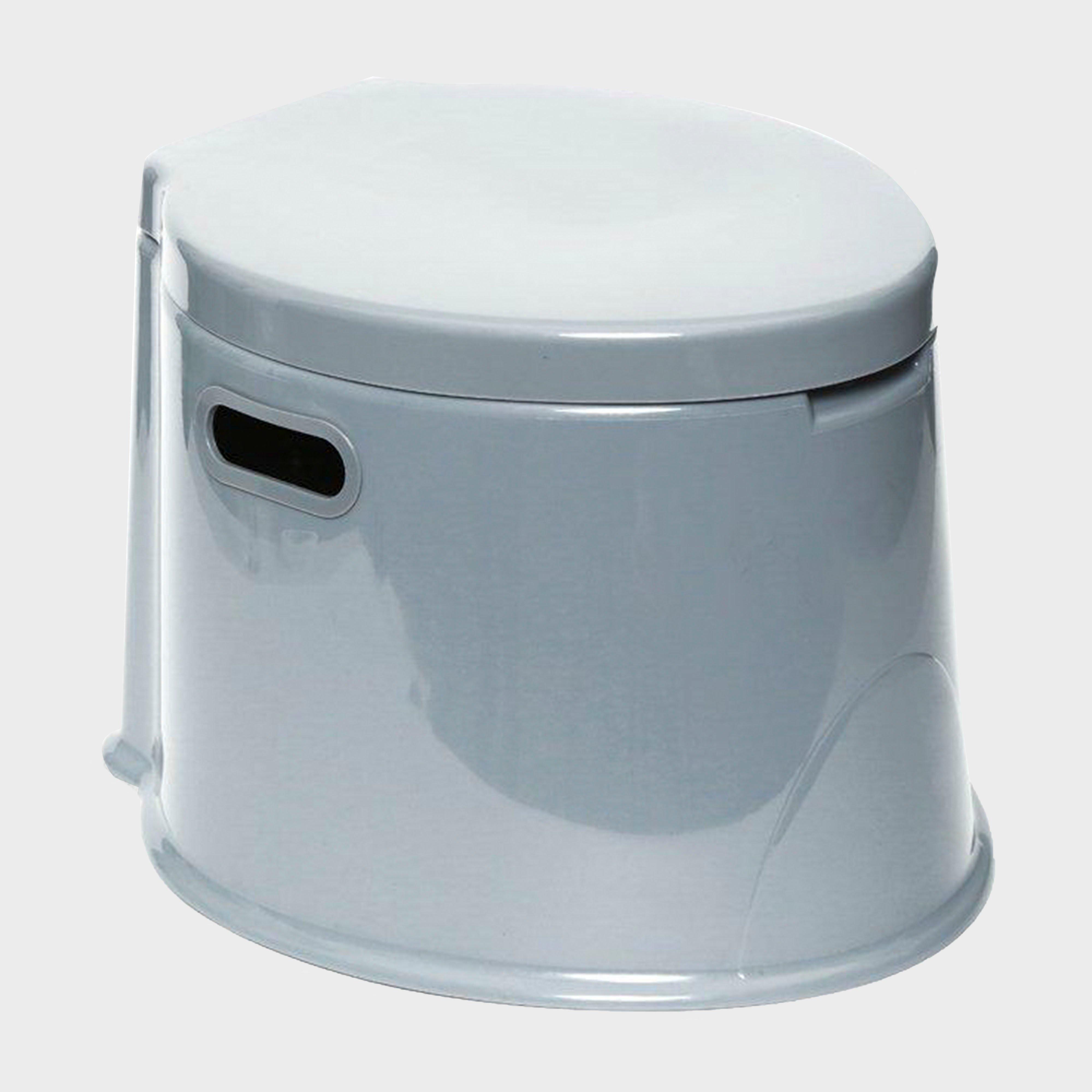 Hi-gear Portable Camping Toilet - Grey/toilet  Grey/toilet