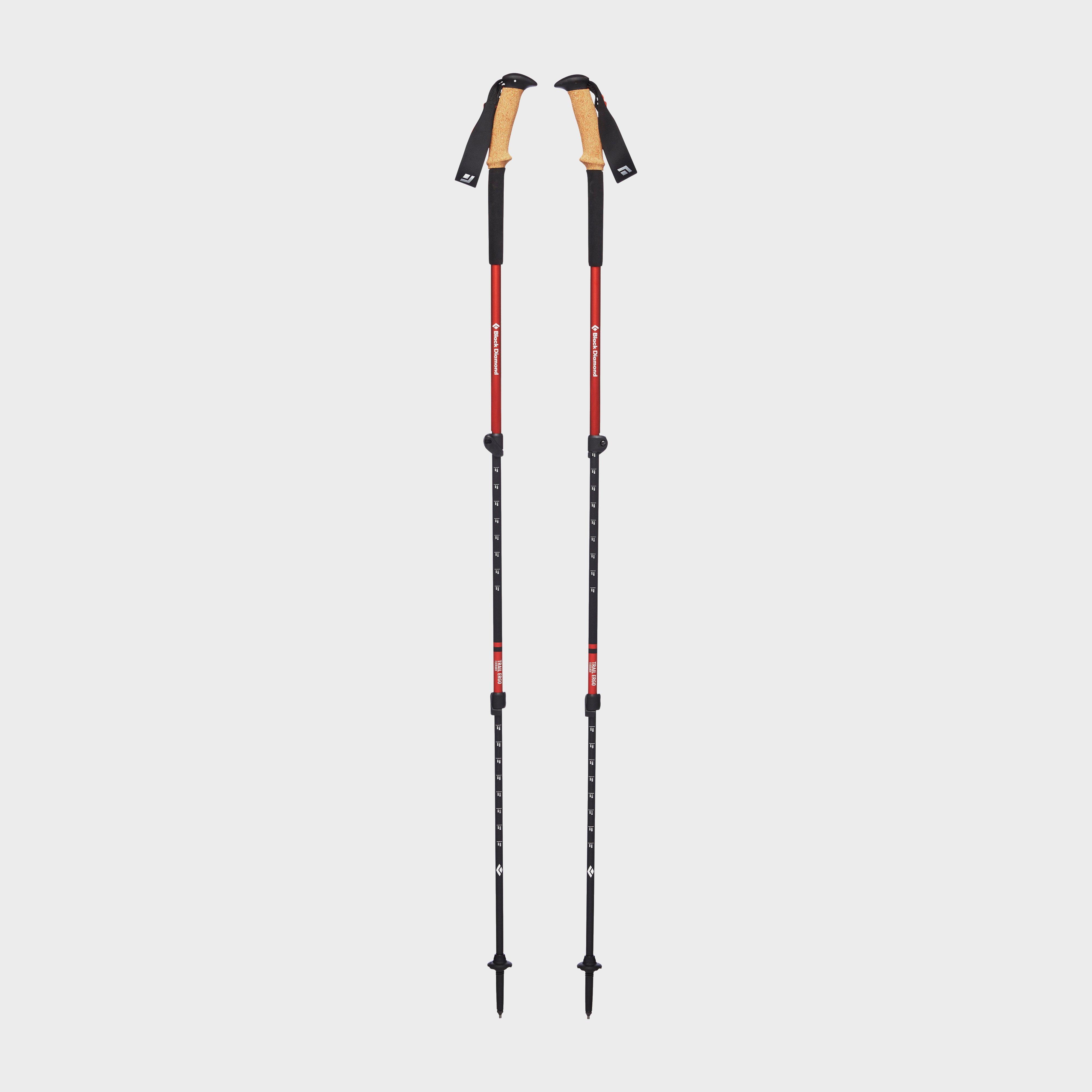 Black Diamond Trail Ergo Cork Trekking Poles - Red/pole  Red/pole