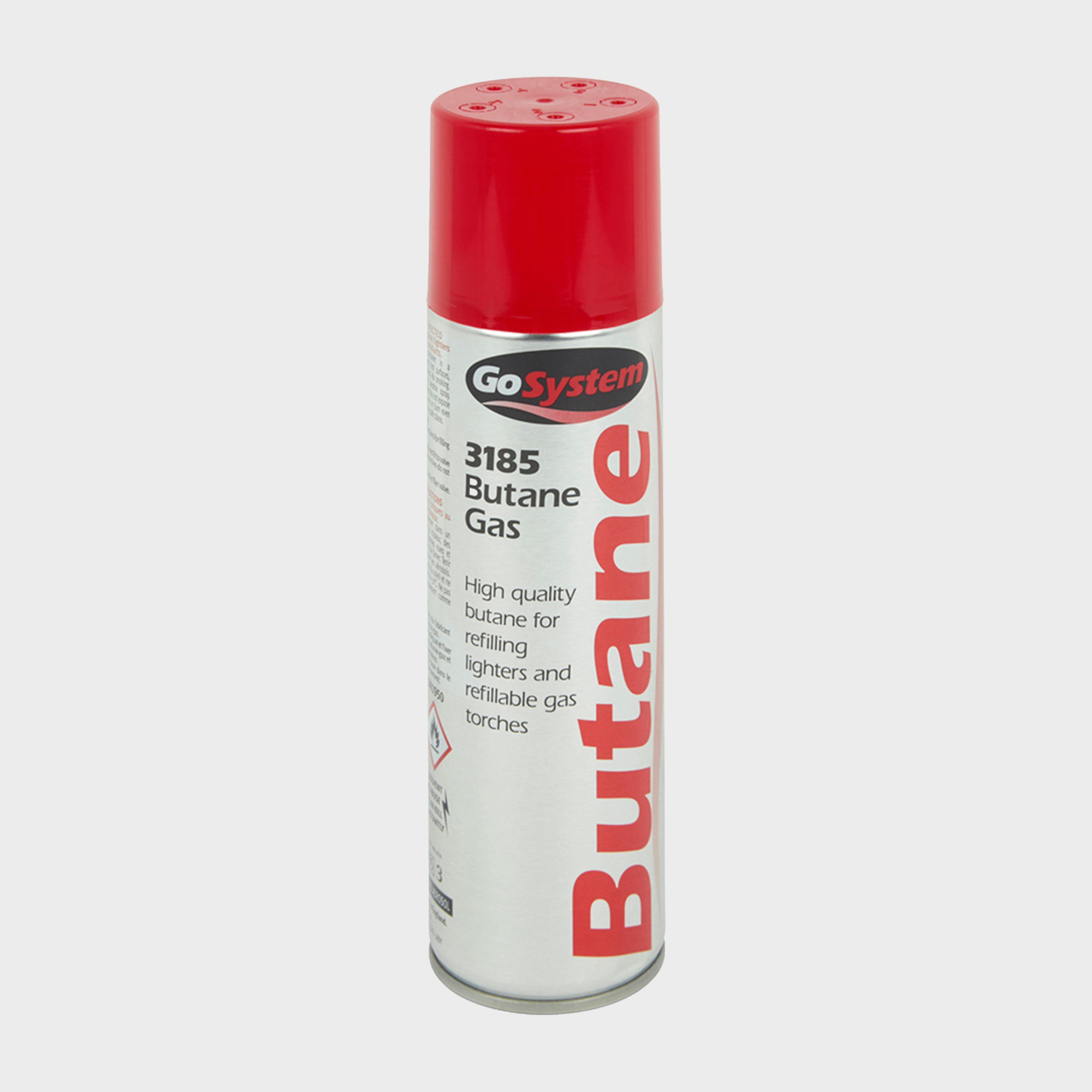 Gogas Butane Gas Lighter Fuel (144g) - White/cartridge  White/cartridge