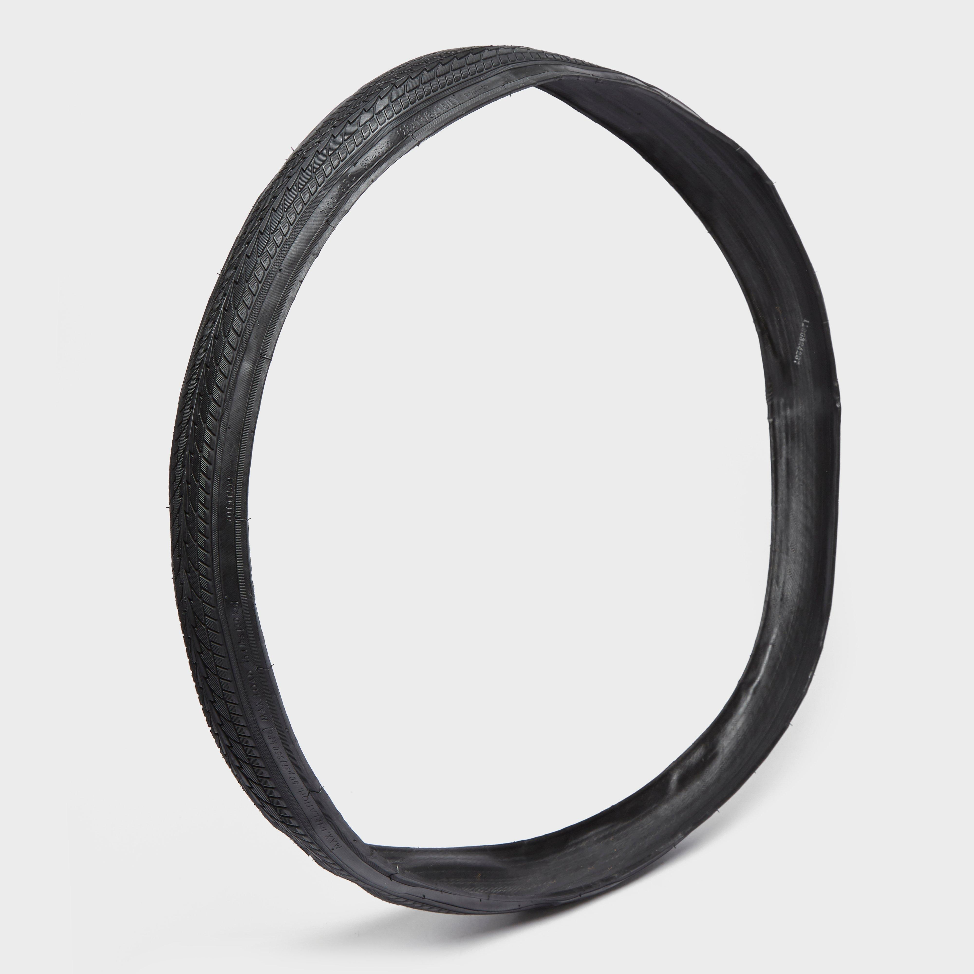 One23 700 X 35 Folding City Bike Tyre - Black/city  Black/city