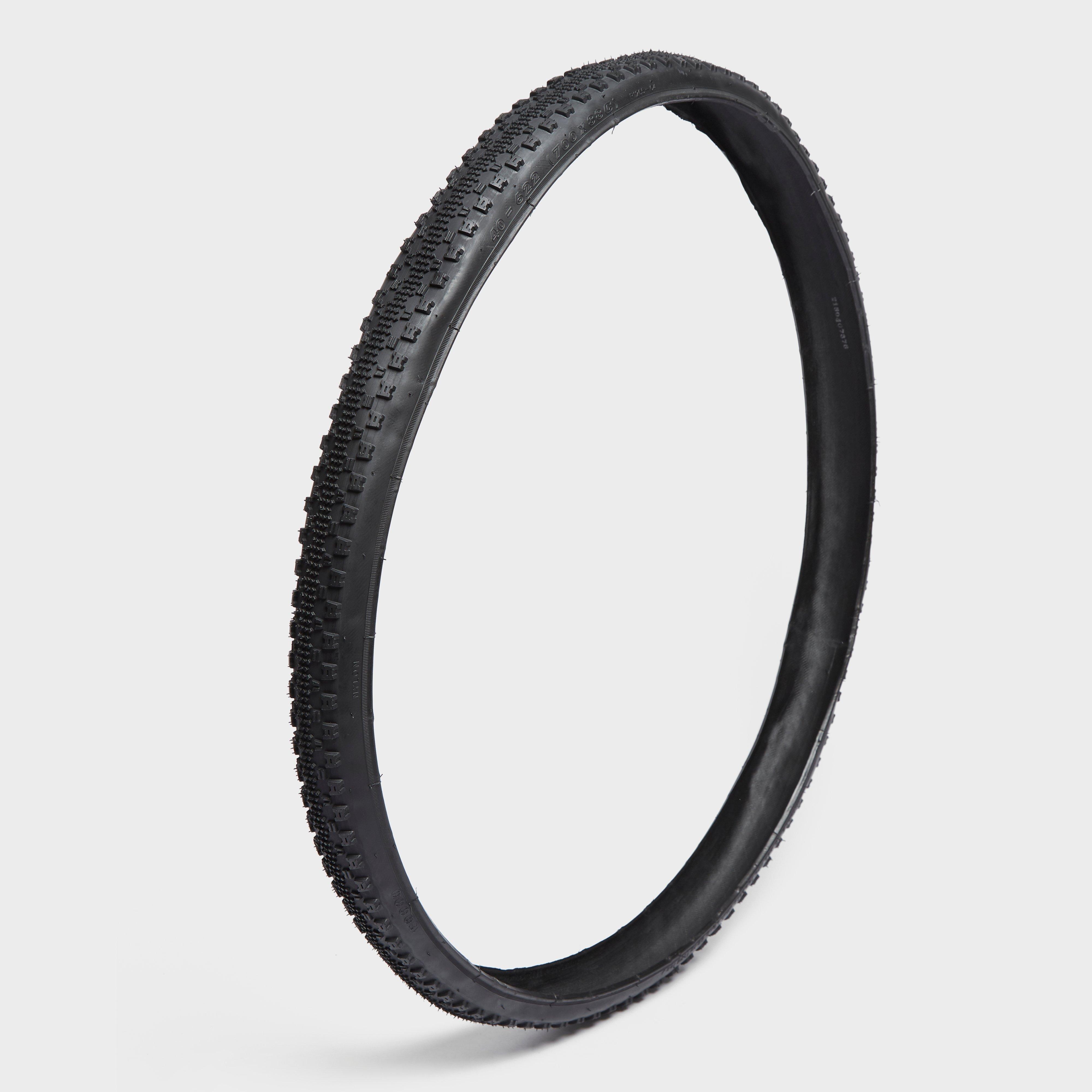 One23 700 X 38 Folding City Bike Tyre - Black/city  Black/city
