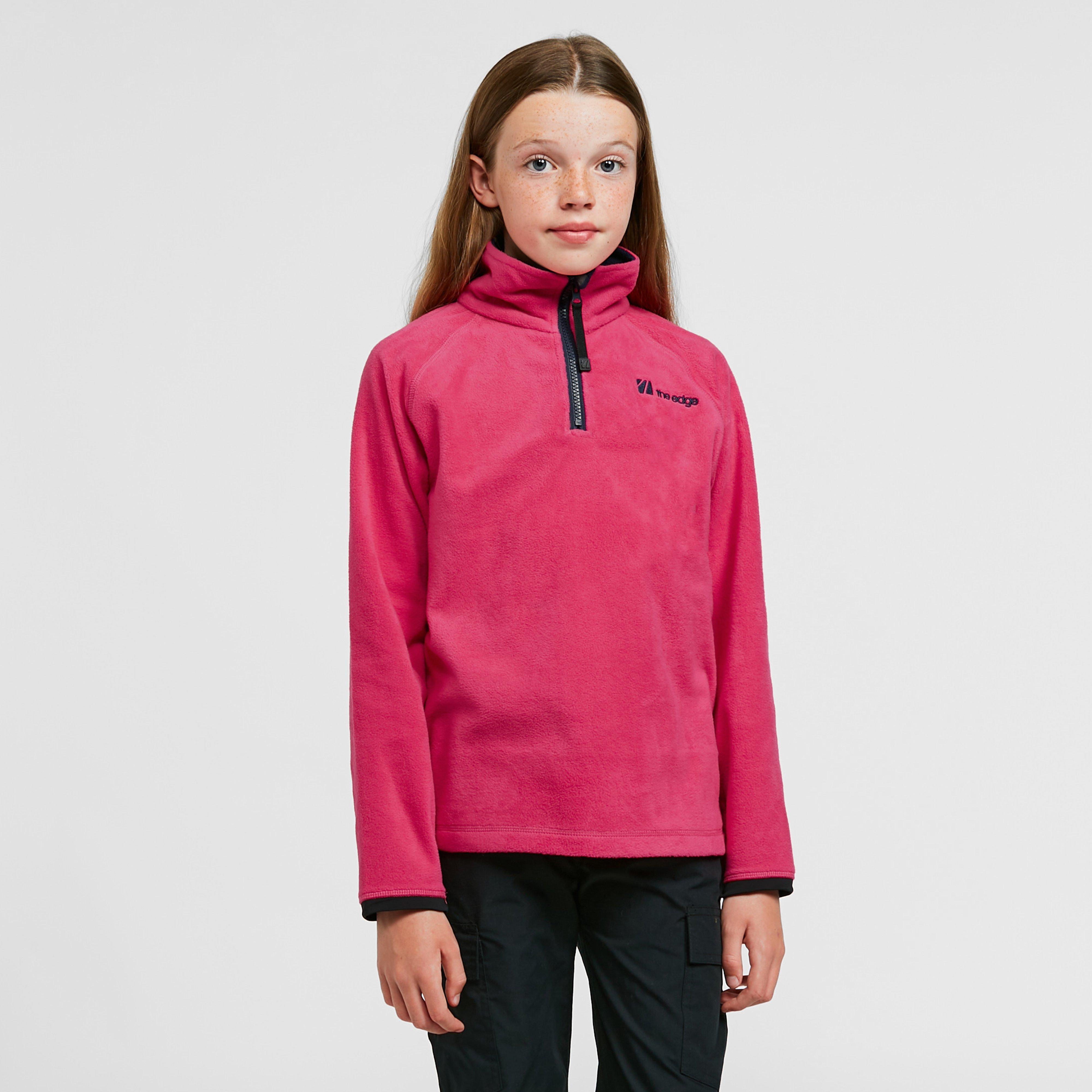 The Edge Kids Ascend Pull On Fleece - Pink/kids  Pink/kids