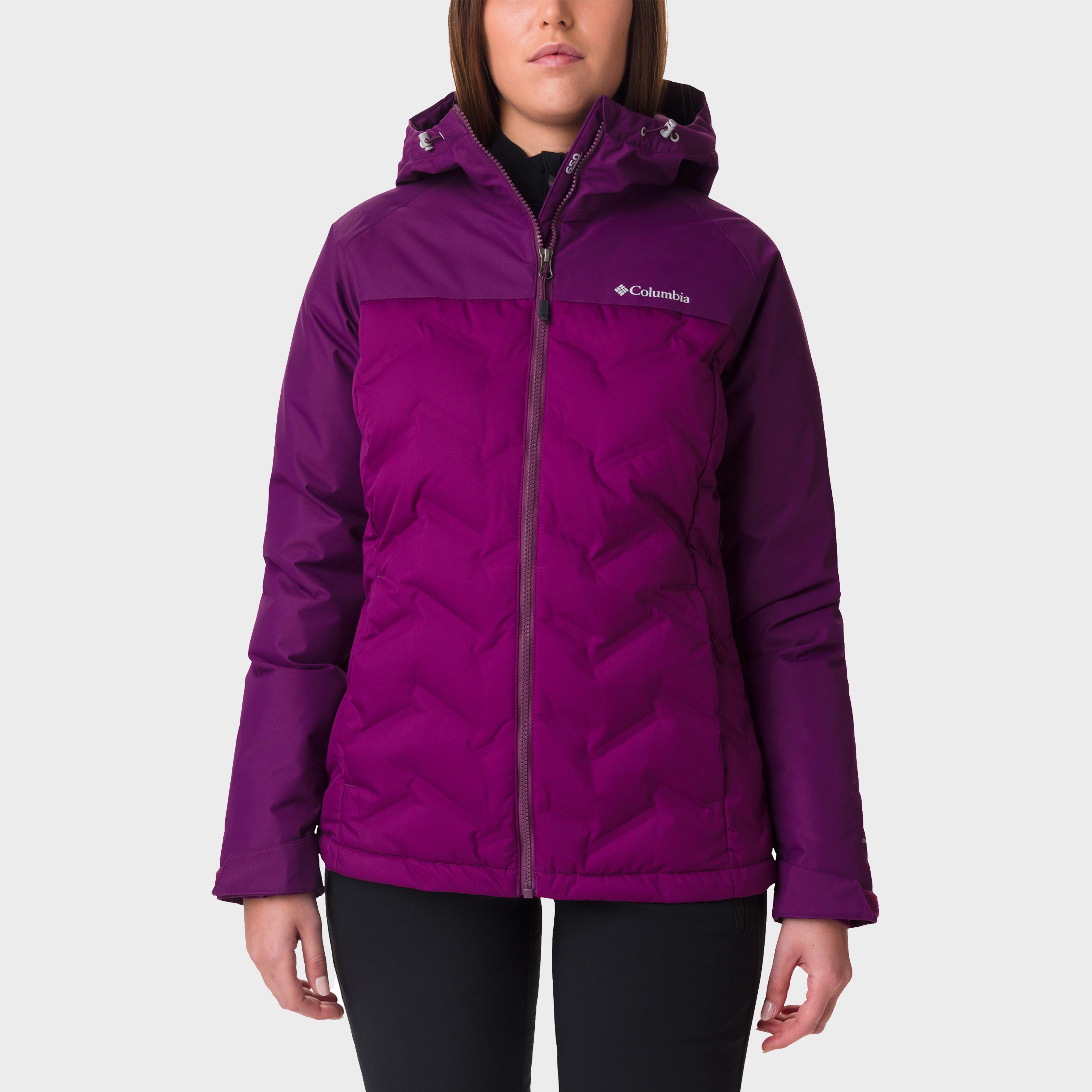 Columbia Women's Grand Trek Down Jacket, Purple