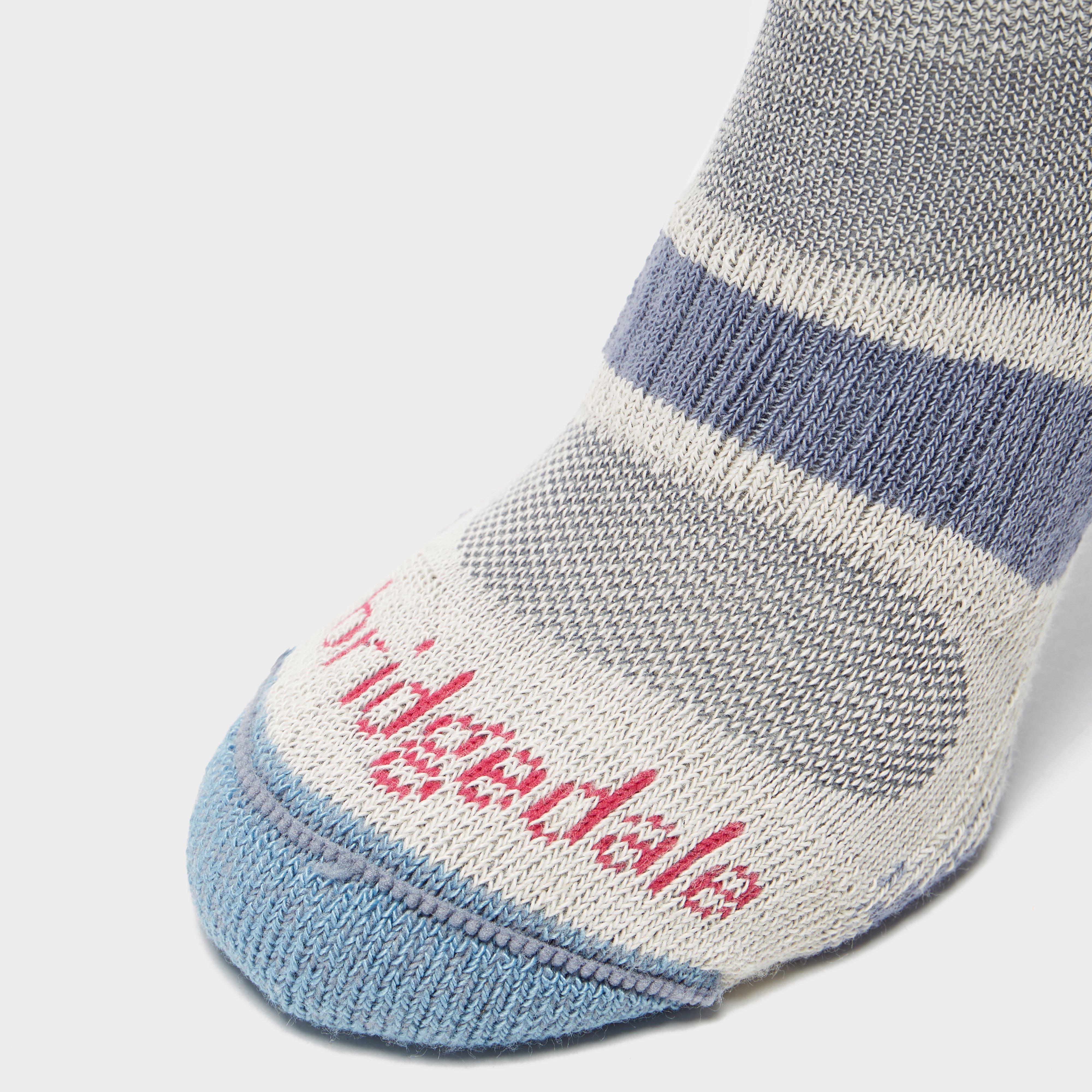 Bridgedale Women's Hike Lightweight Coolmax Socks, Blue