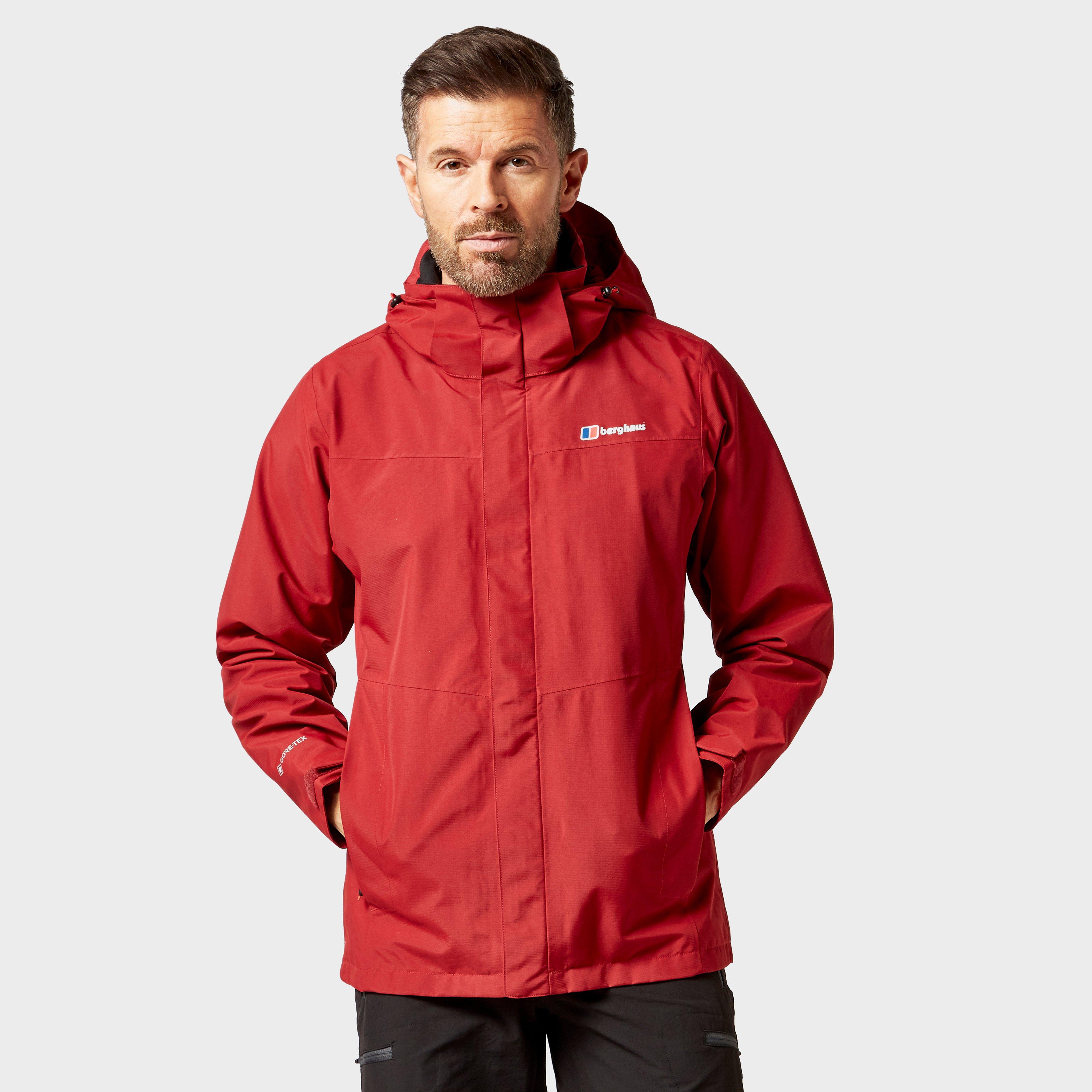 Berghaus Mens Maitland Gore-tex  Jacket - Red/jacket  Red/jacket