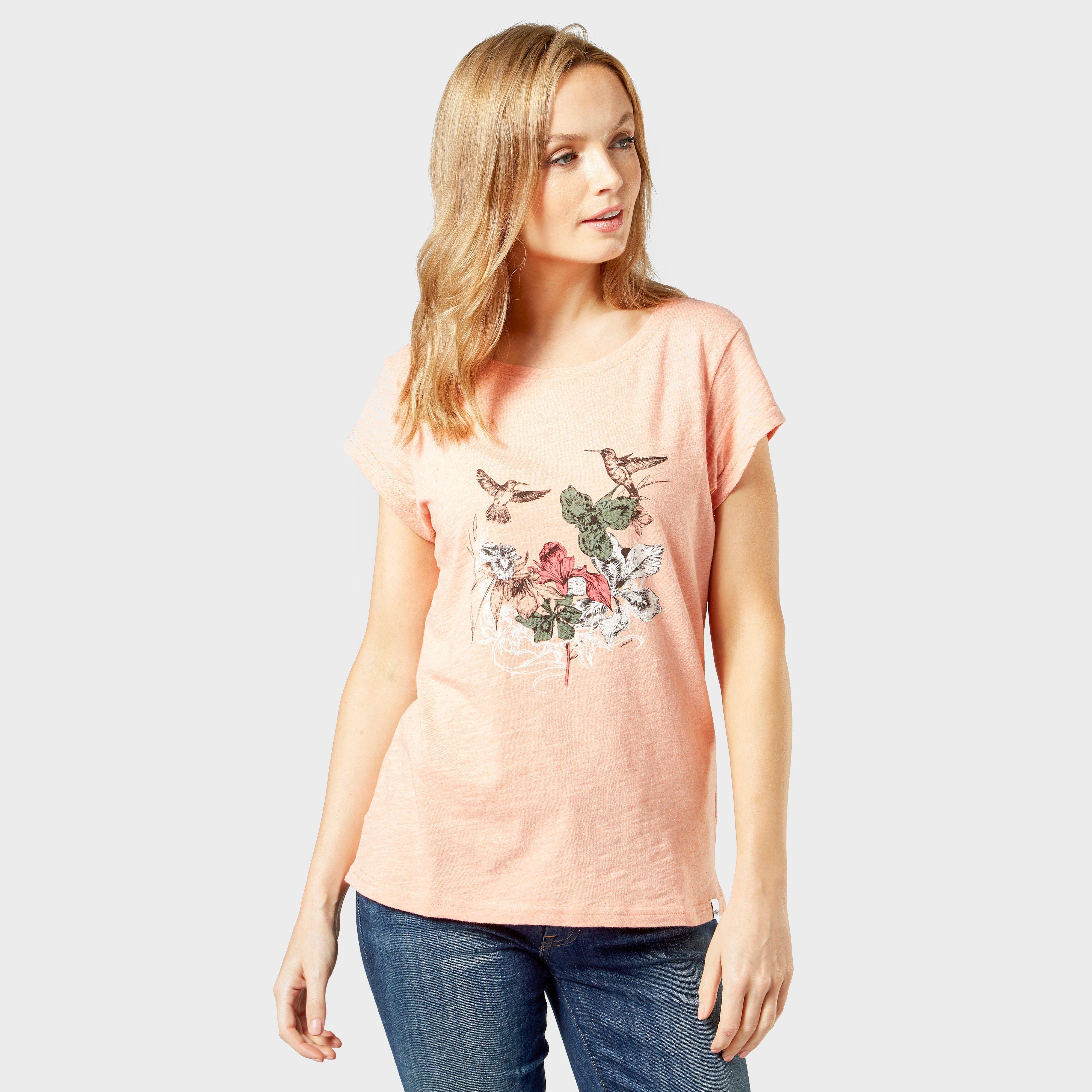 Animal Women's Spirit T-Shirt, Pink