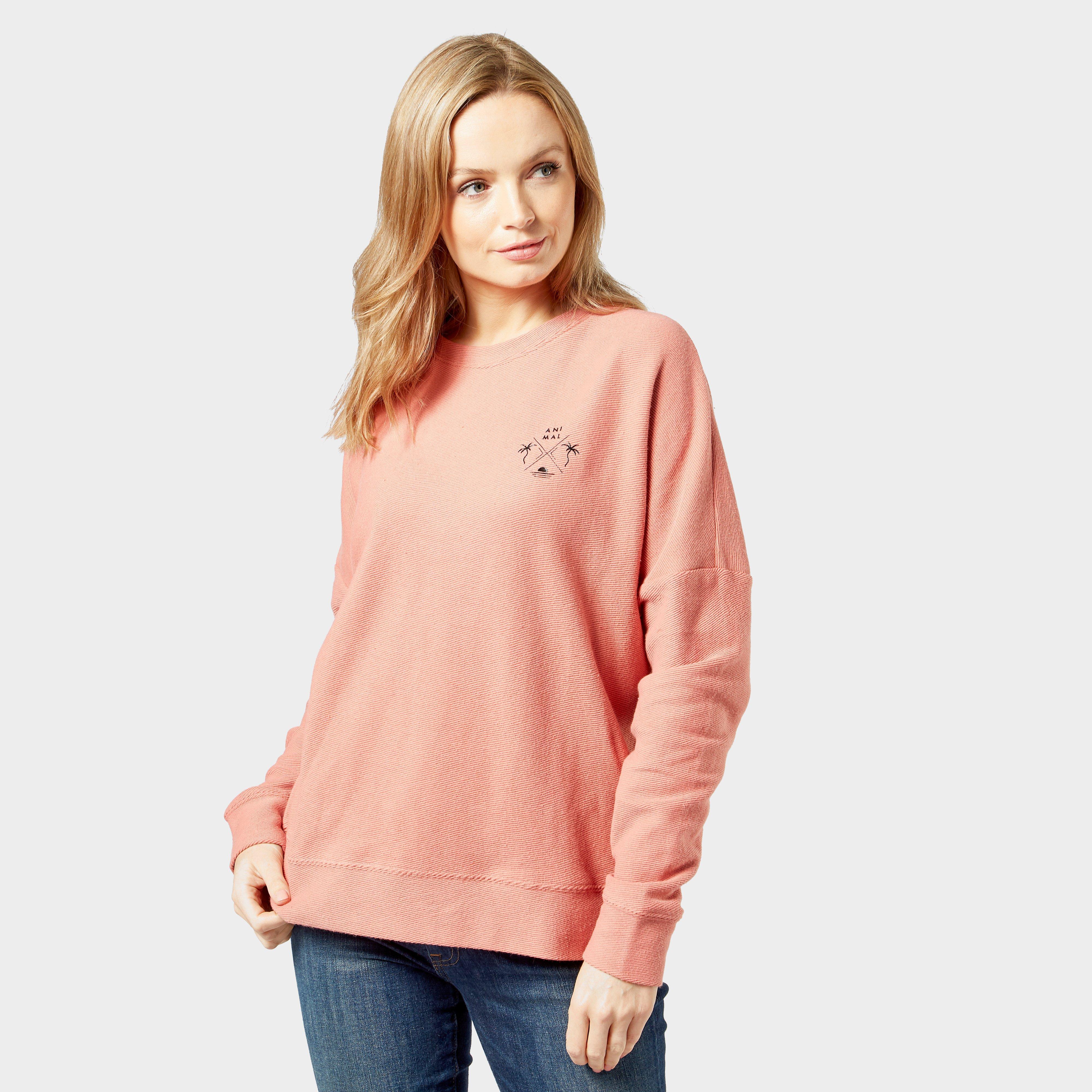 Animal Women's Malindi Sweatshirt, Pink