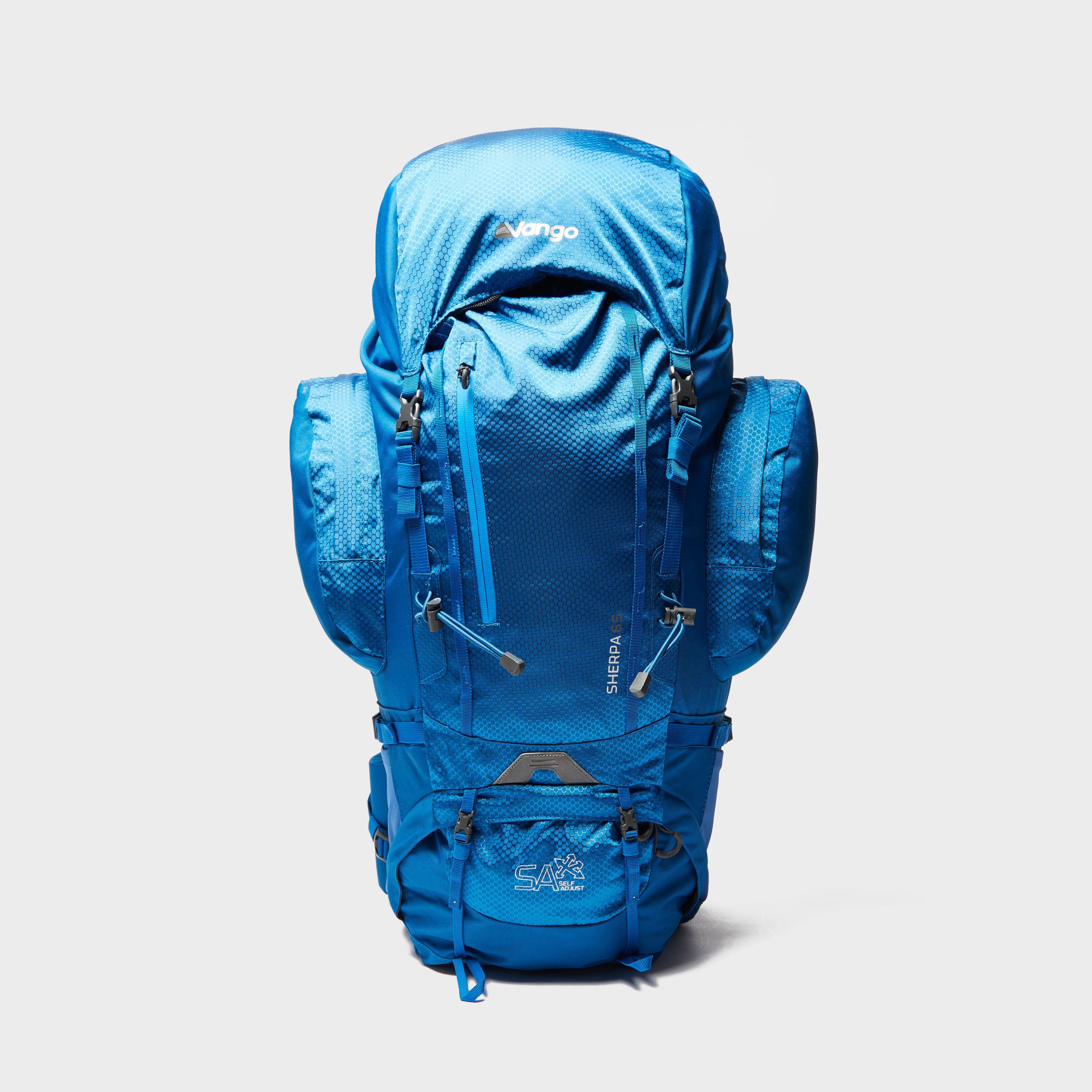 Vango Sherpa 65L Backpack, Blue