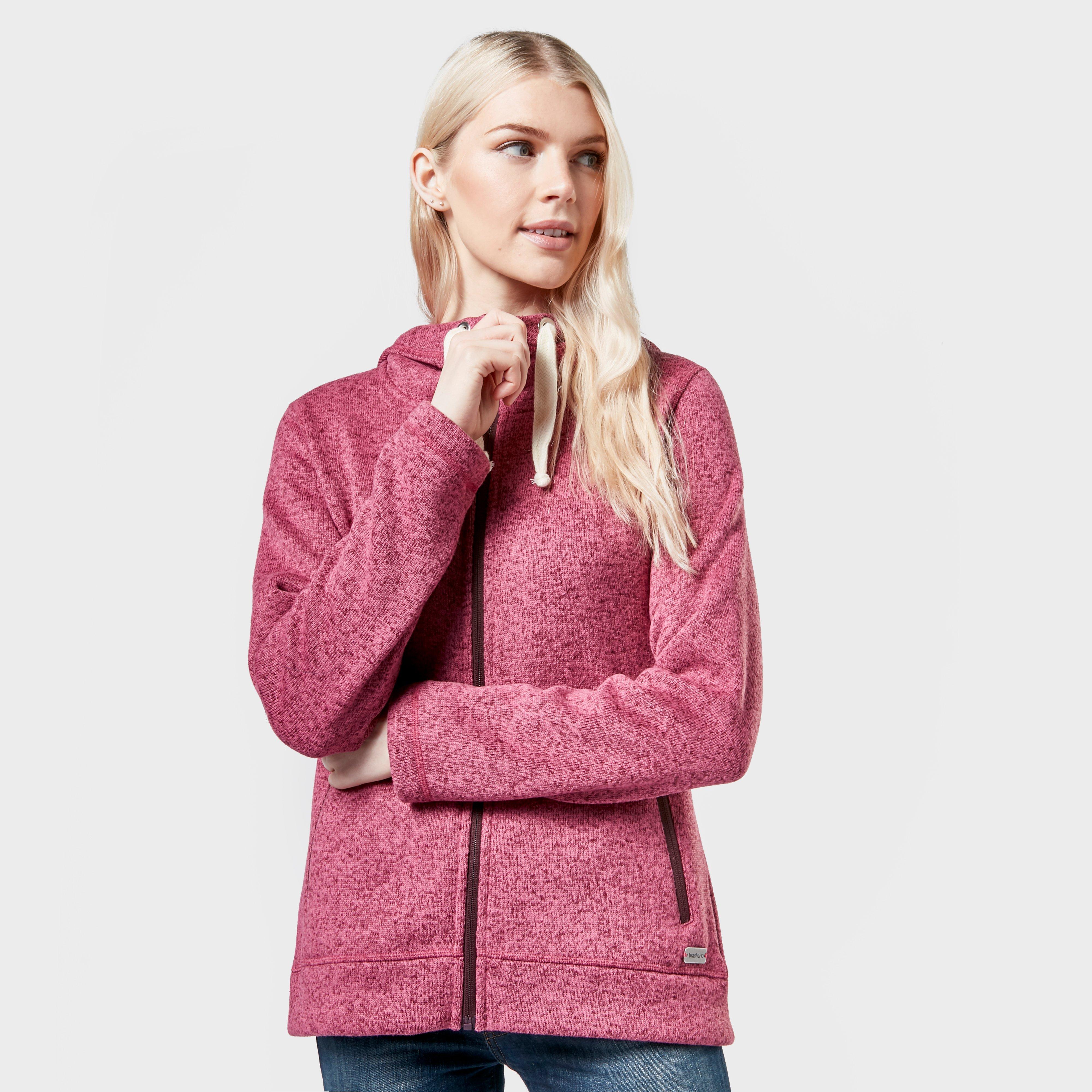 Brasher Womens Rydal Fleece - Pink/pnk  Pink/pnk