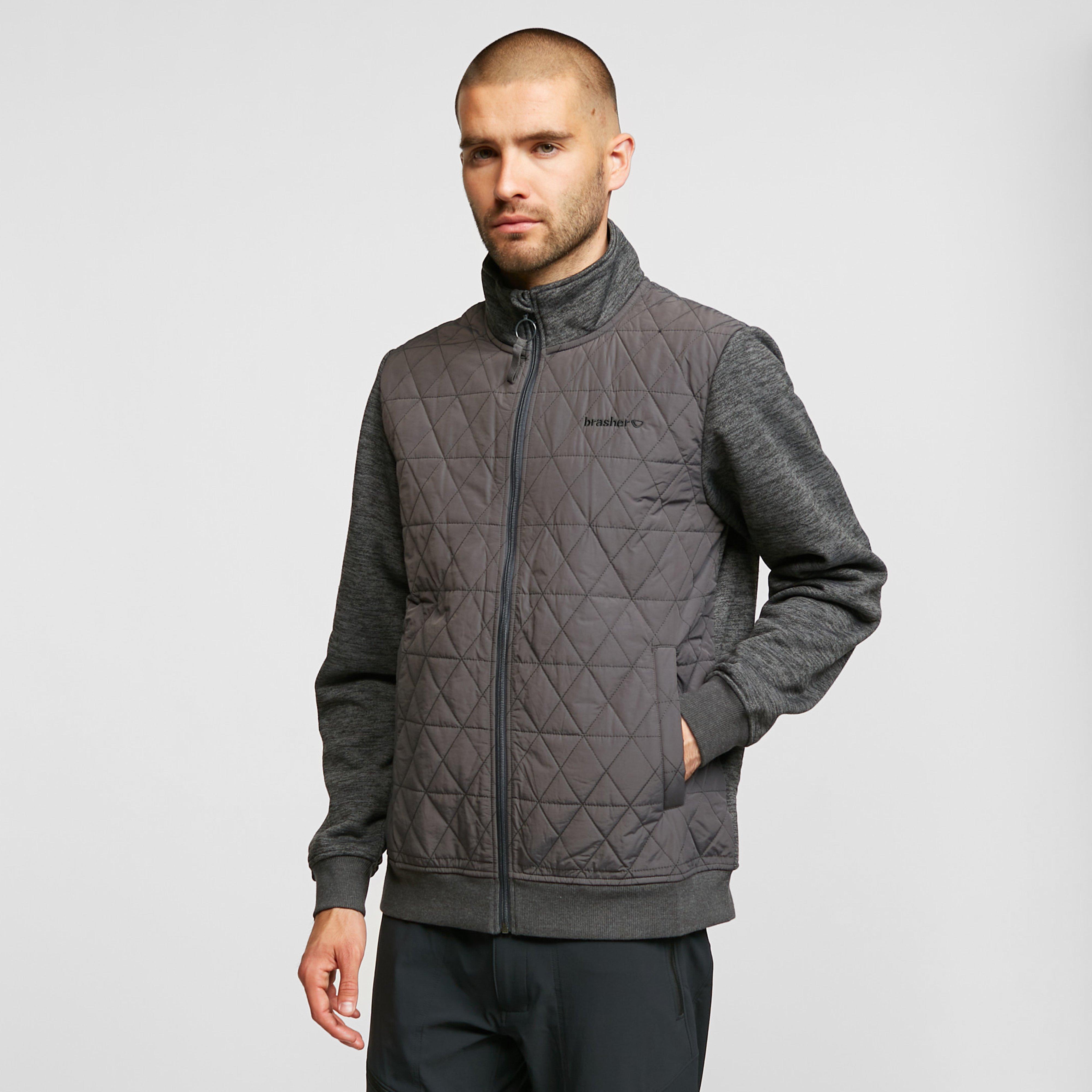 Brasher Mens Branstree Jacket - Grey/dgy  Grey/dgy