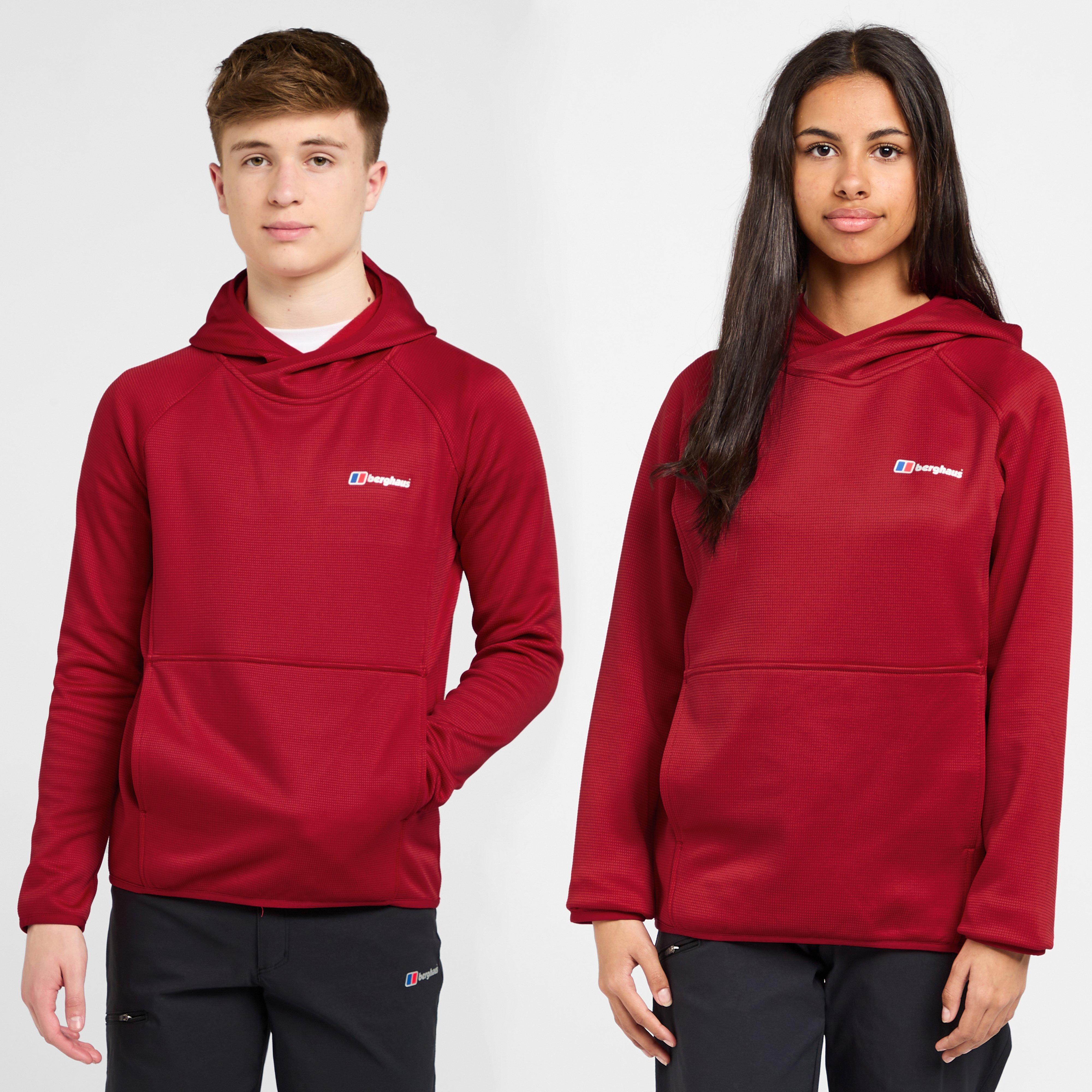 Berghaus Logo Hoodie Junior - Red/red  Red/red