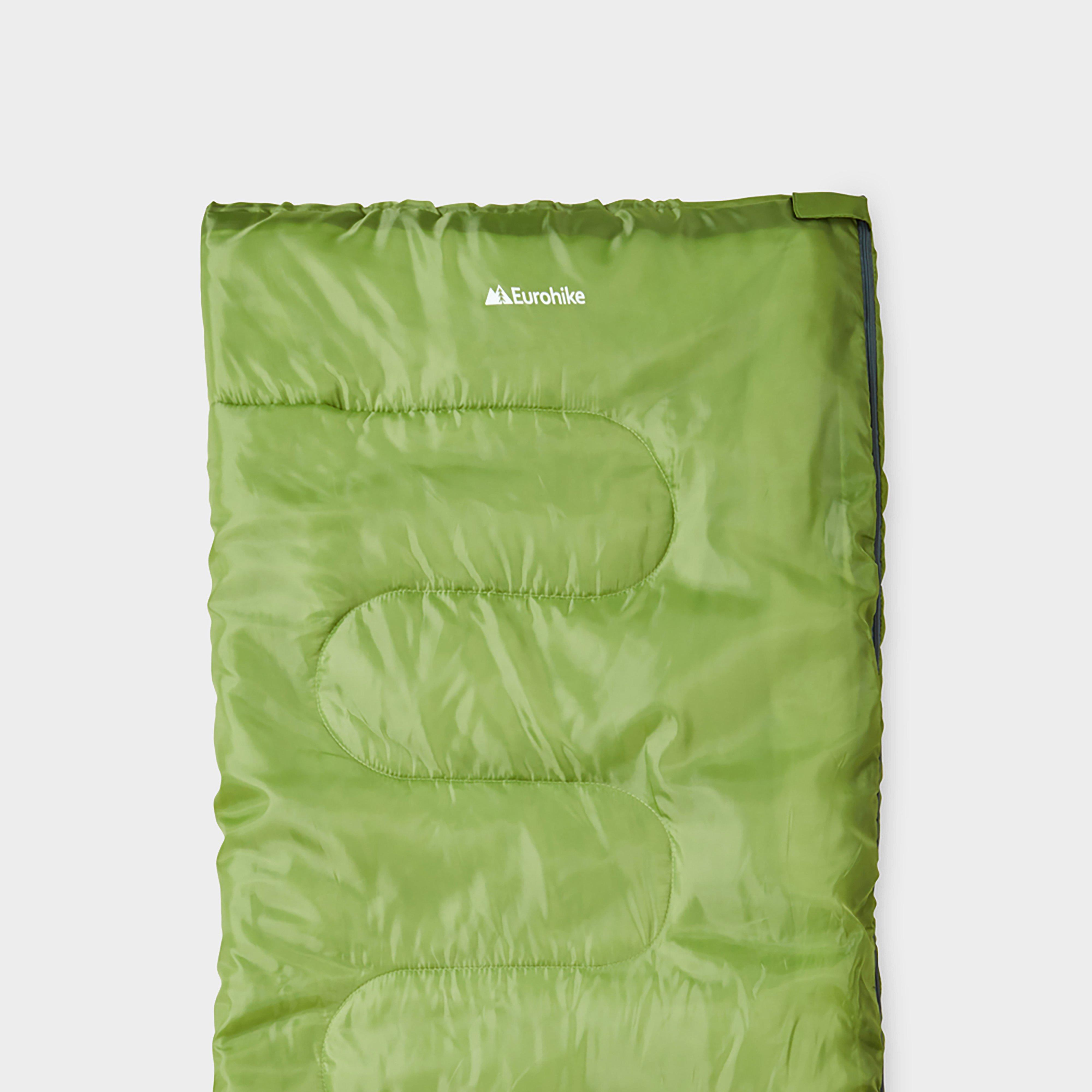 Eurohike Snooze 250 Sleeping Bag - Green/lme  Green/lme