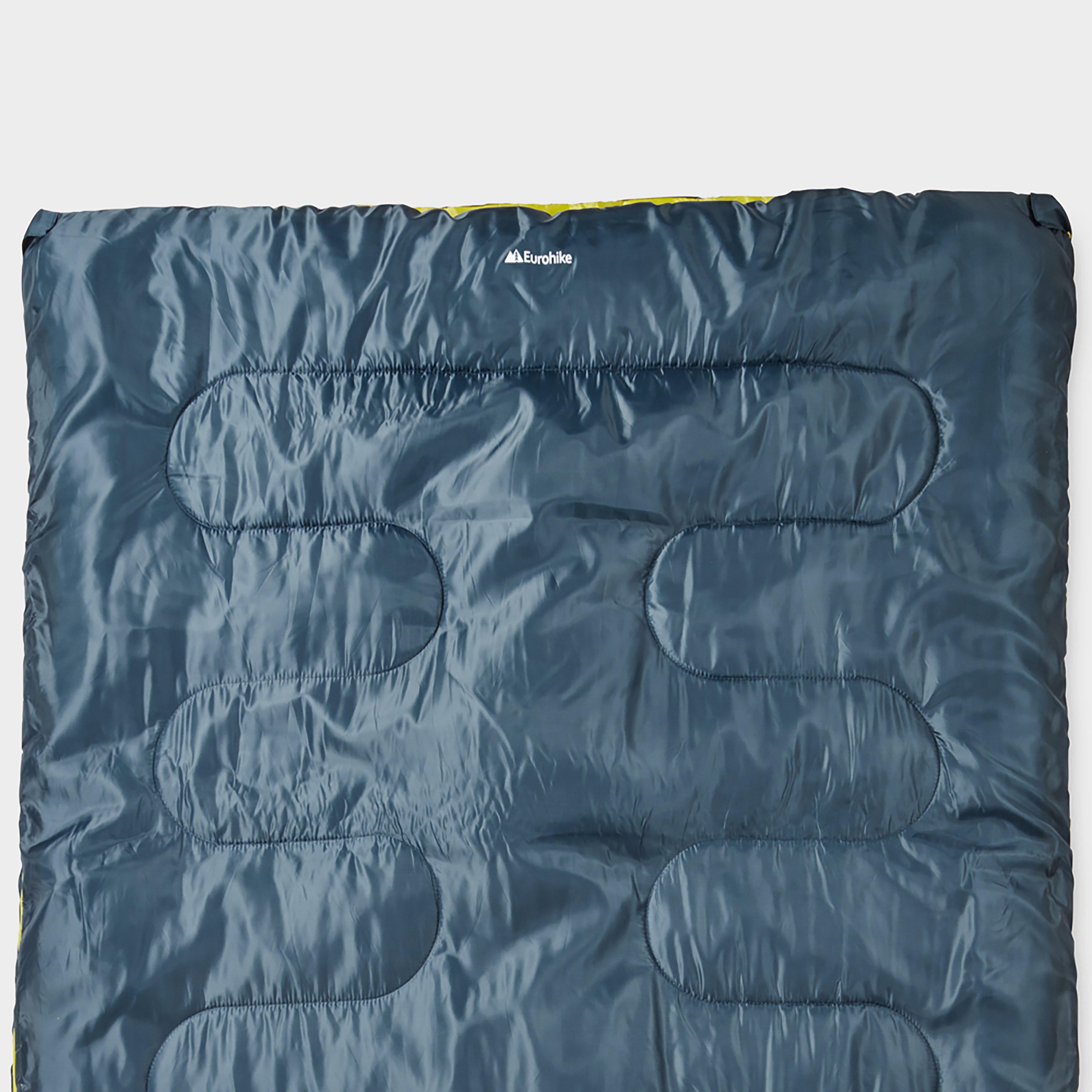Eurohike Super Snooze Double Sleeping Bag - Blue/blue  Blue/blue