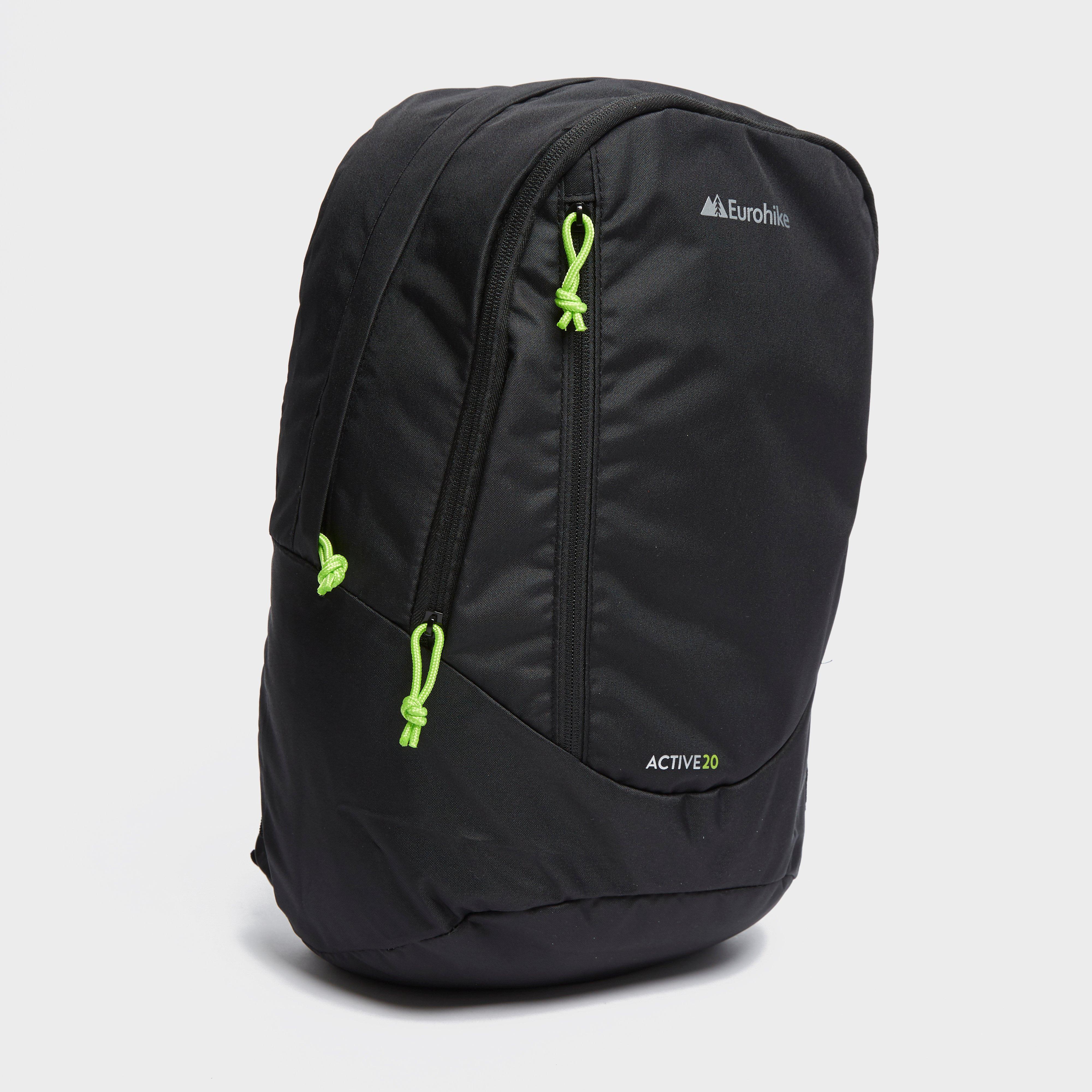 Eurohike Active 20 Daypack, Black