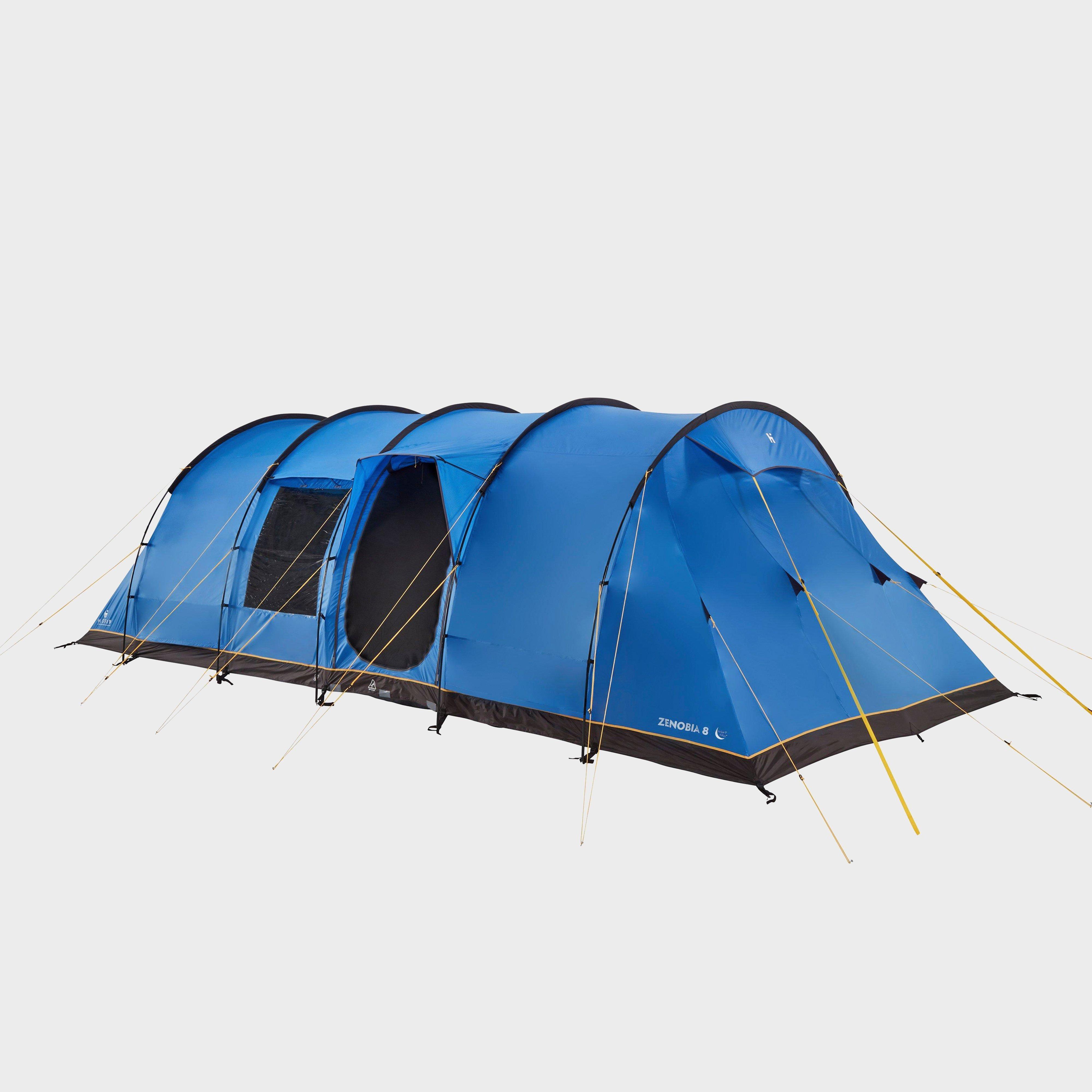 Hi-gear Zenobia 8 Nightfall Tent - Blue/blue  Blue/blue
