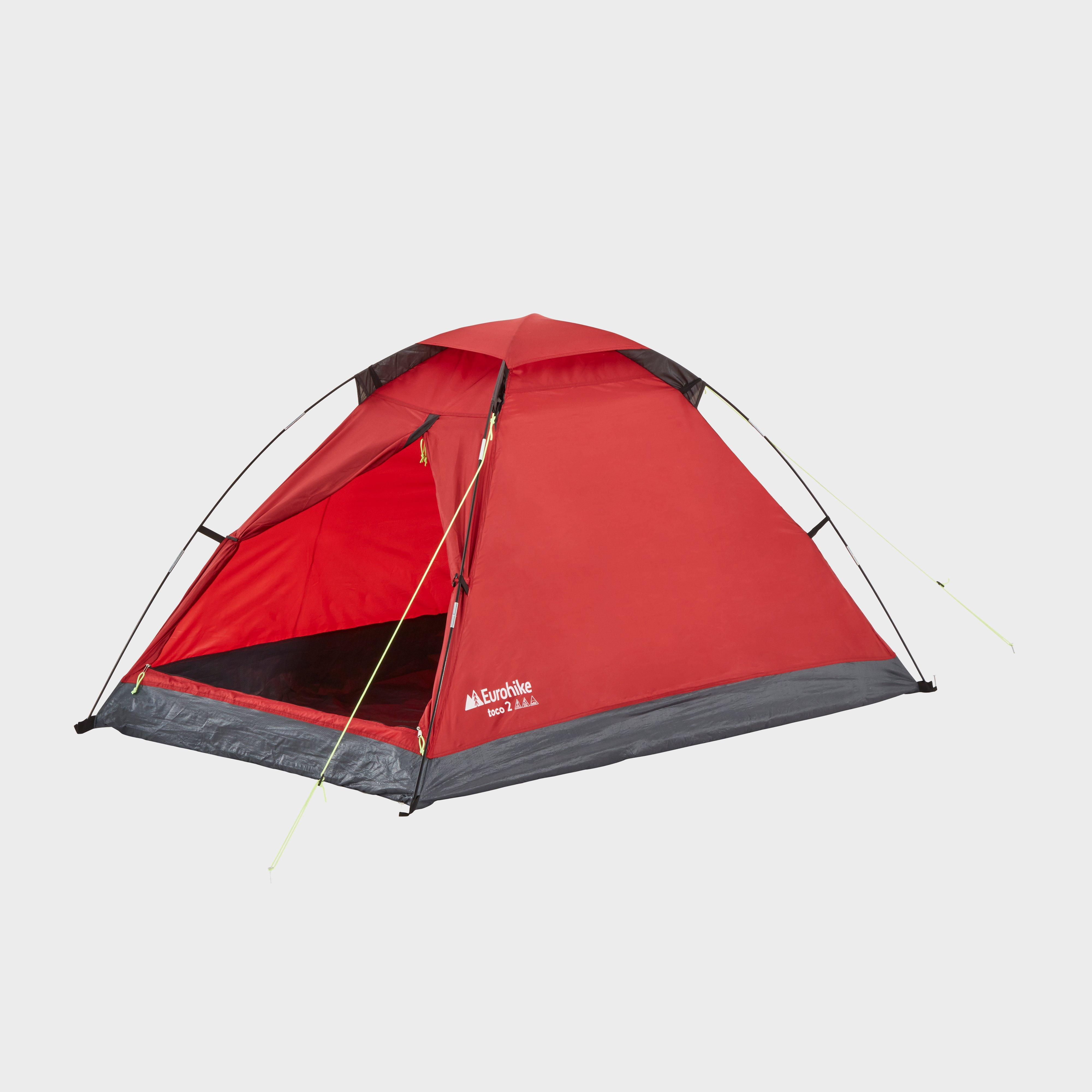Eurohike Eh Toco 2 Tent - Red/red  Red/red