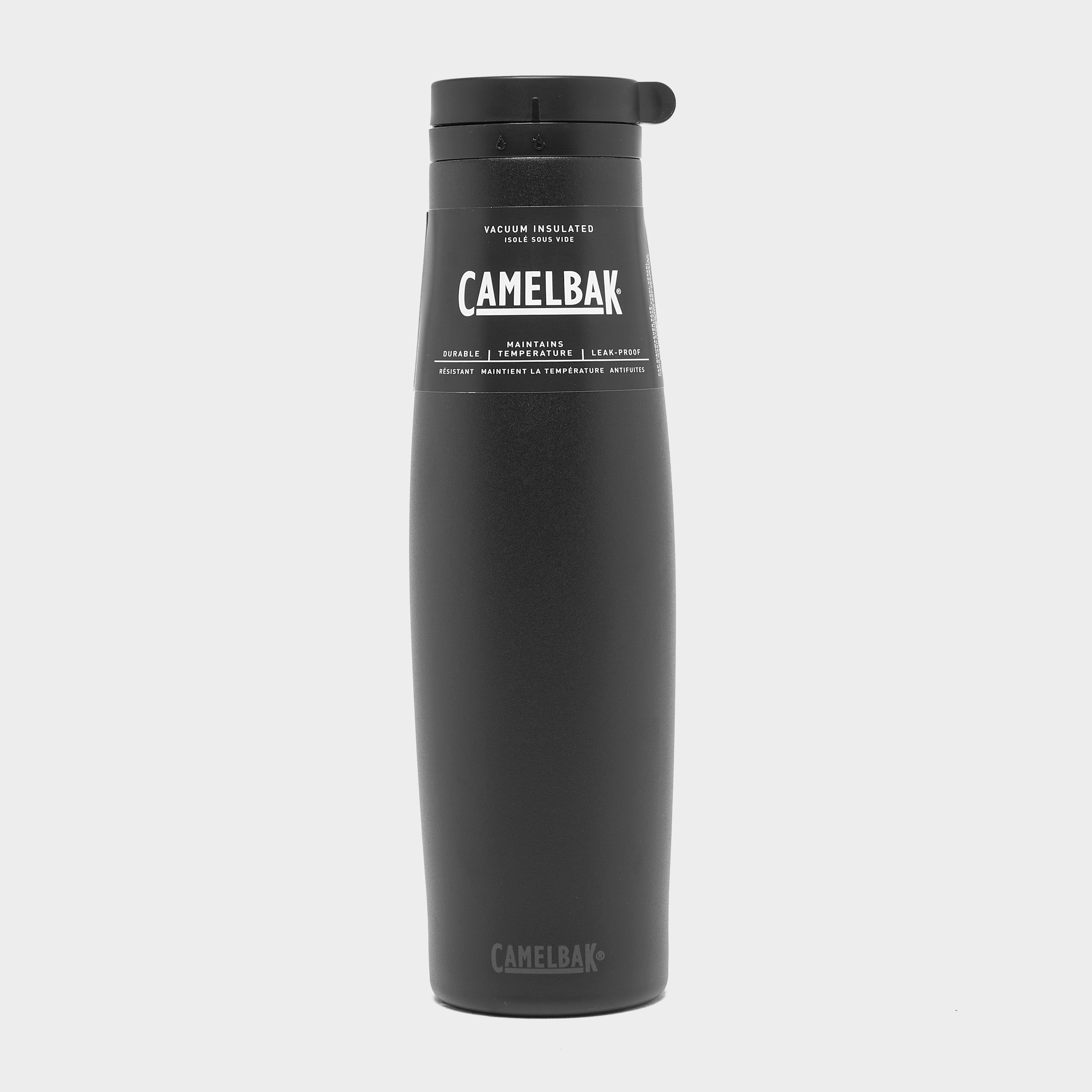 Camelbak Beck 0.6L Vacuum Stainless Steel Bottle, Black/BLK
