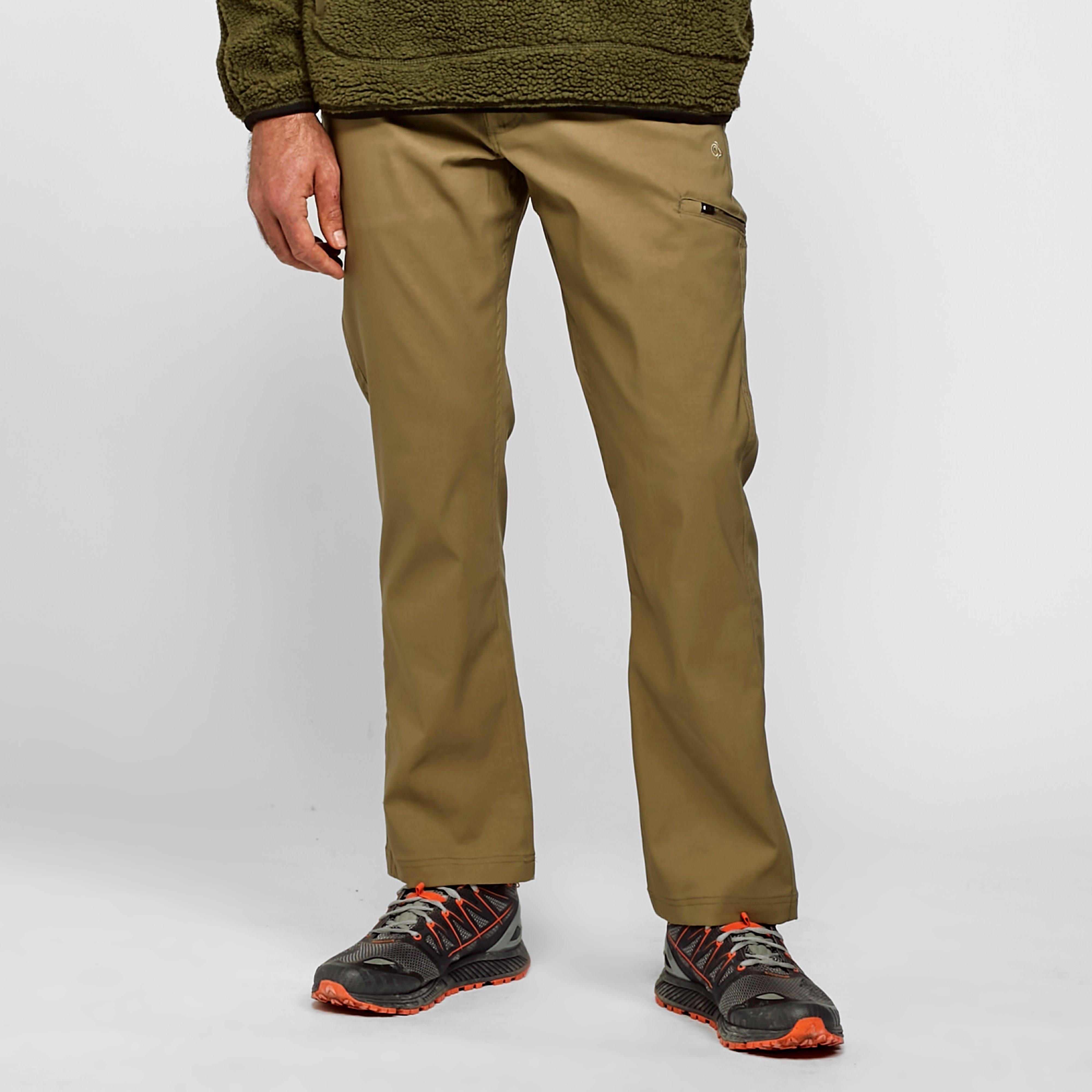 Craghoppers Mens Kiwi Pro Stretch Trousers (short) - Beige/bei  Beige/bei