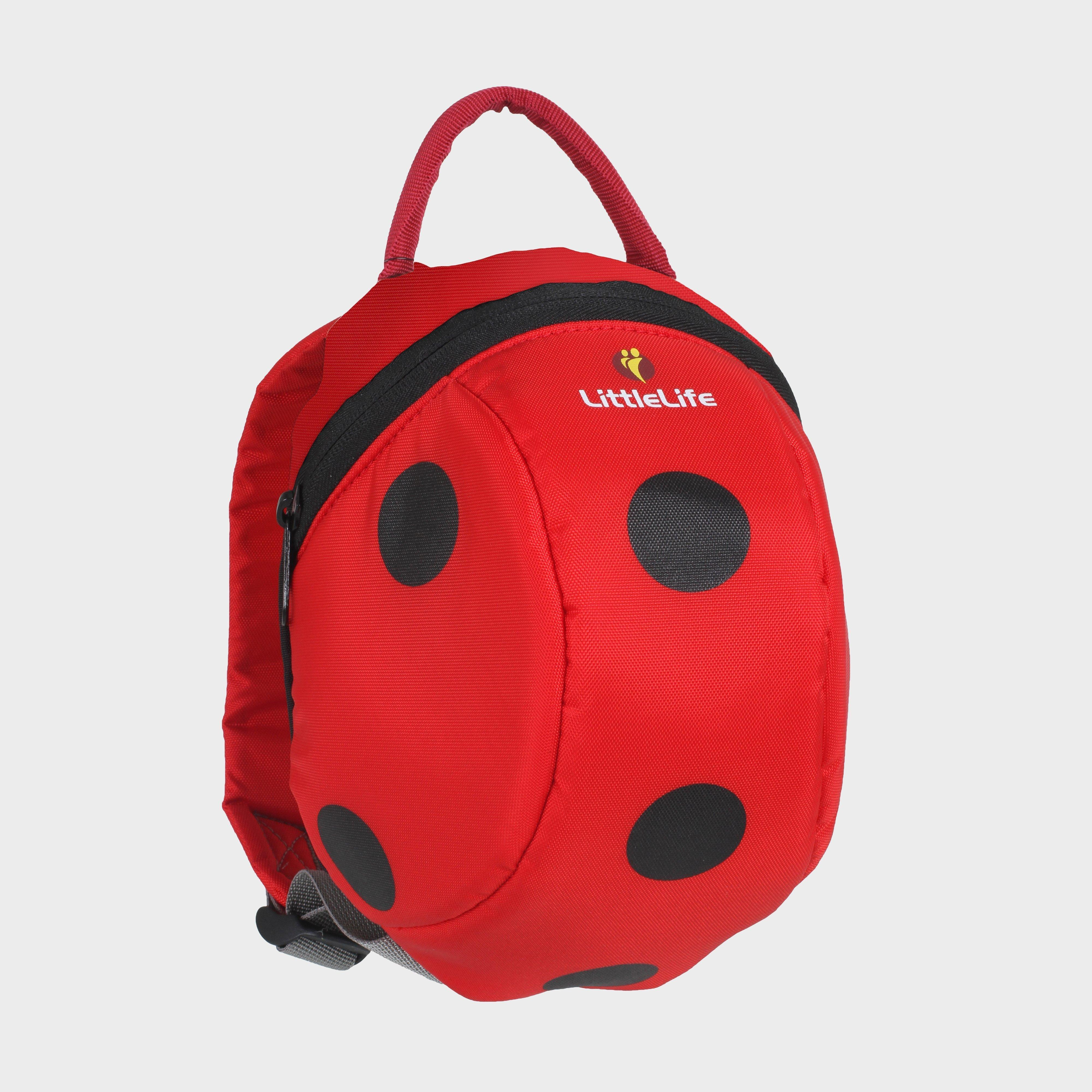 Littlelife Ladybird Toddler Pack with Rein, Red