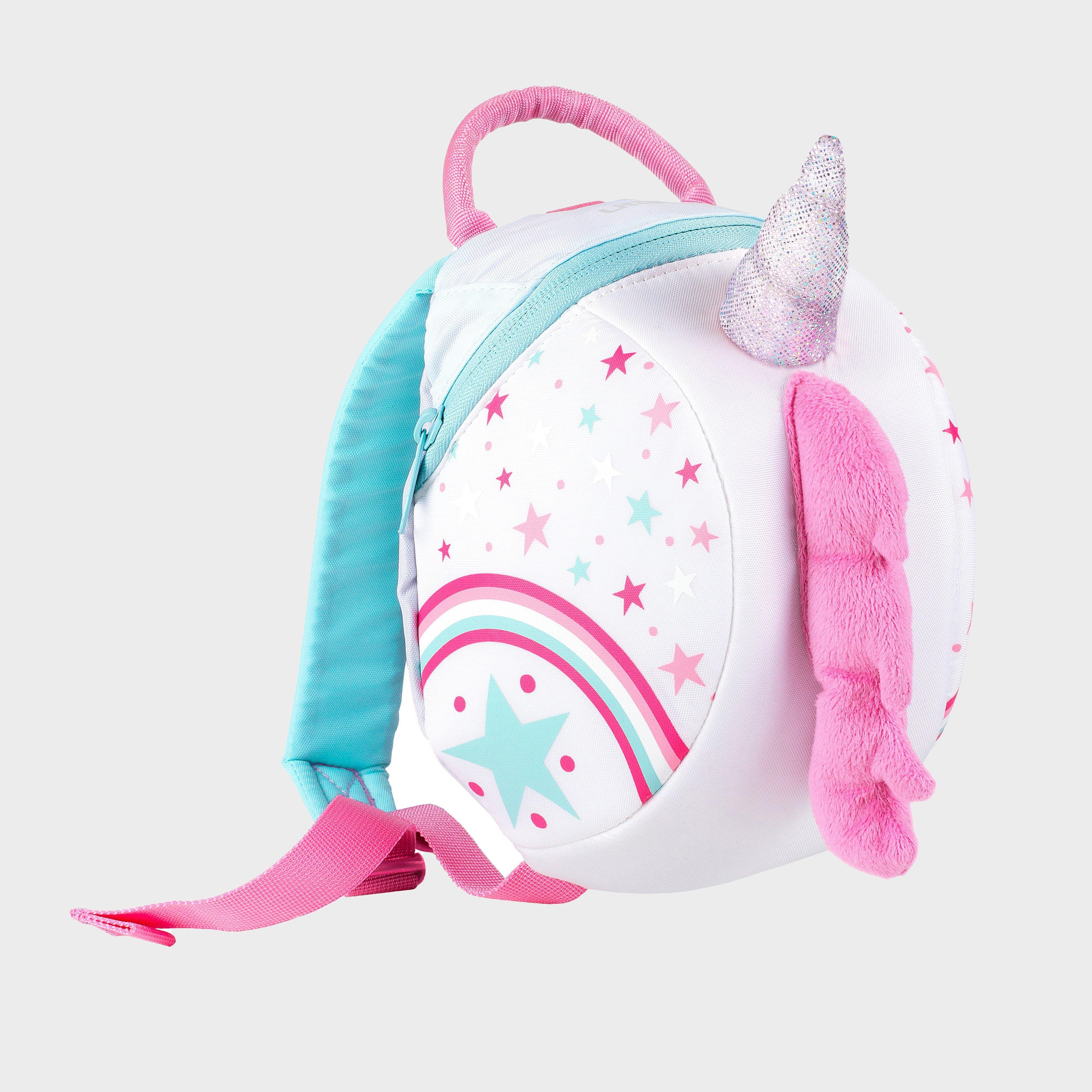 Littlelife Unicorn Toddler Pack with Rein, White