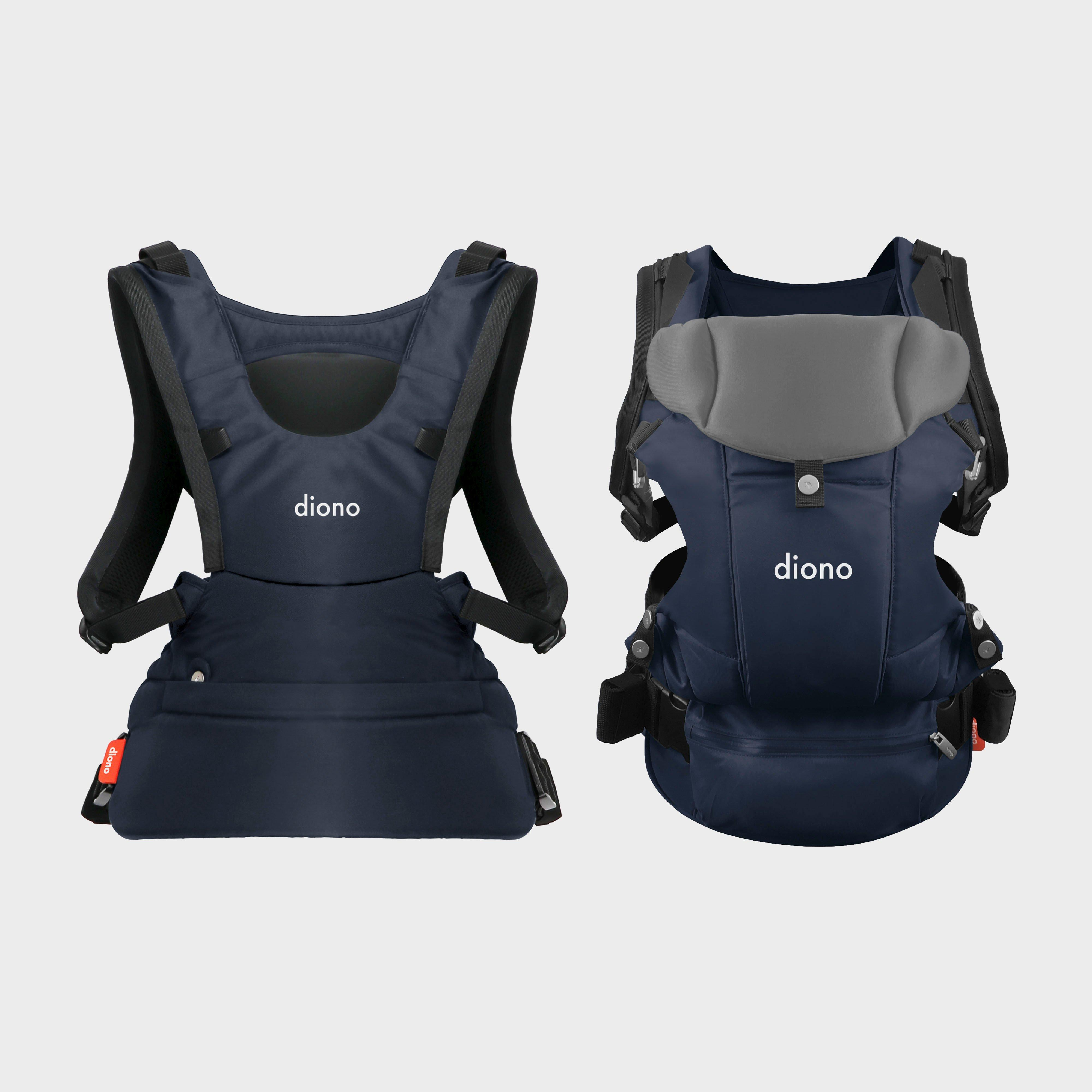 Diono Carus Complete Child Carrier, Navy