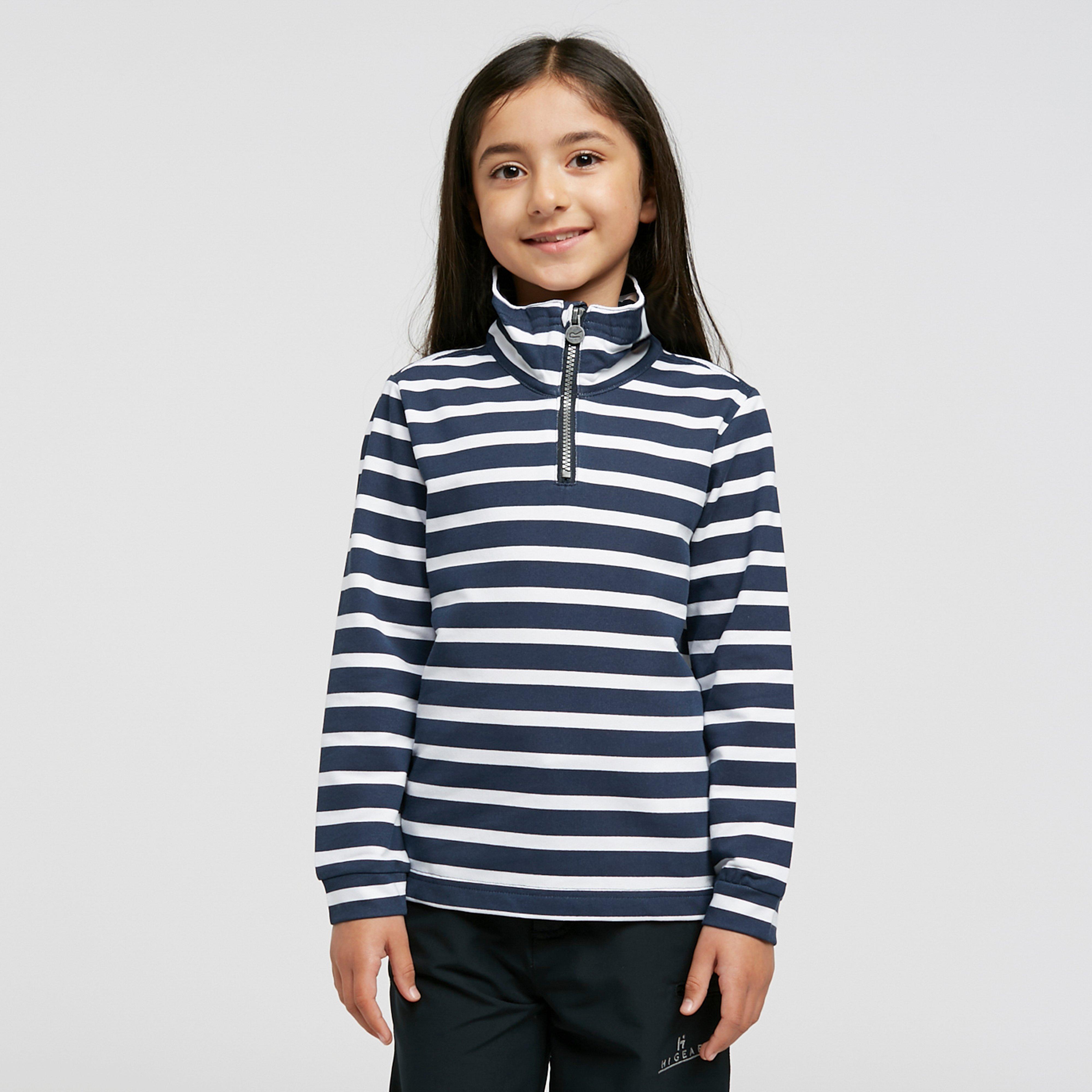 Regatta Kids Benji Half Zip Fleece - Multi/nvy  Multi/nvy