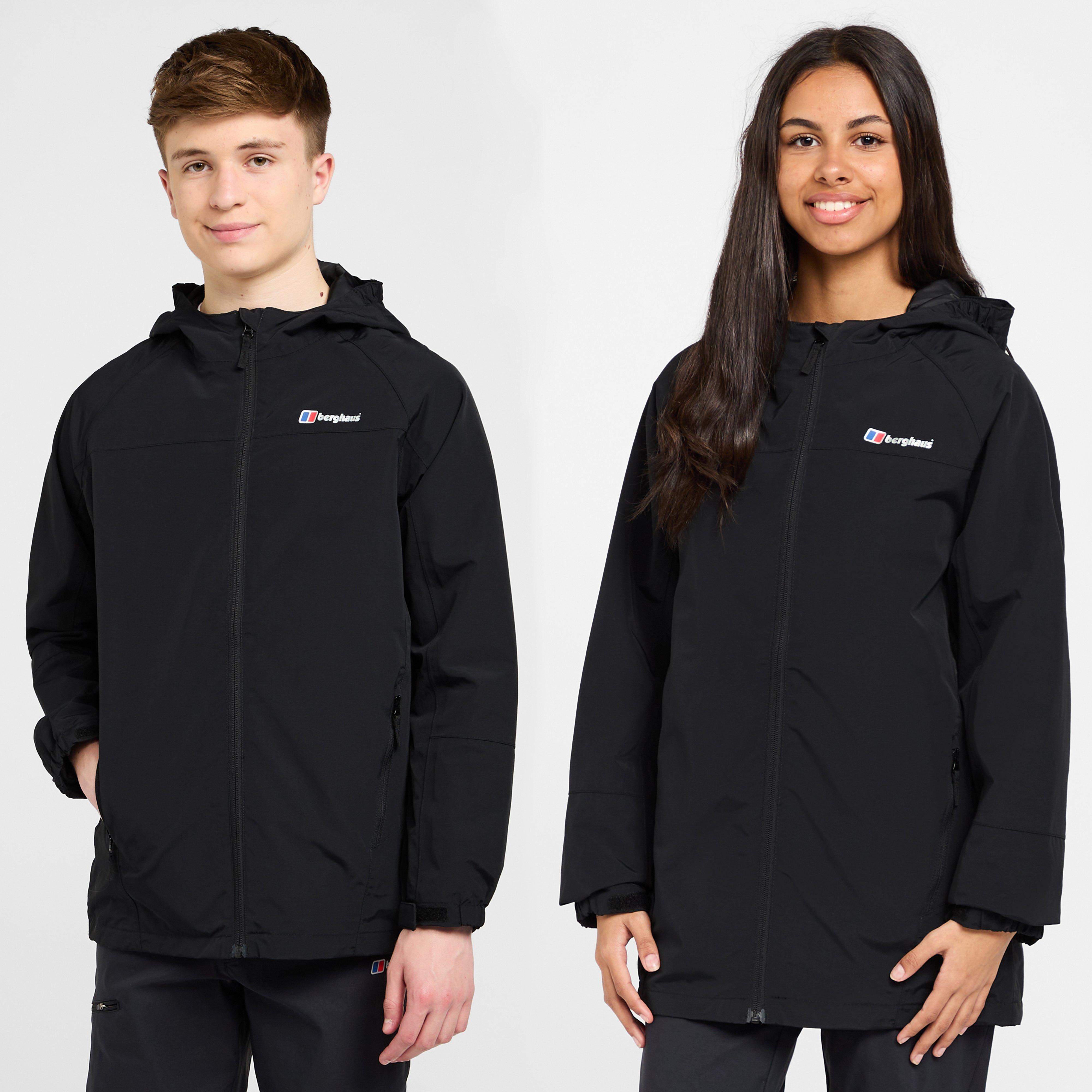 Berghaus Kids Bowood Waterproof Jacket - Black/blkblk  Black/blkblk