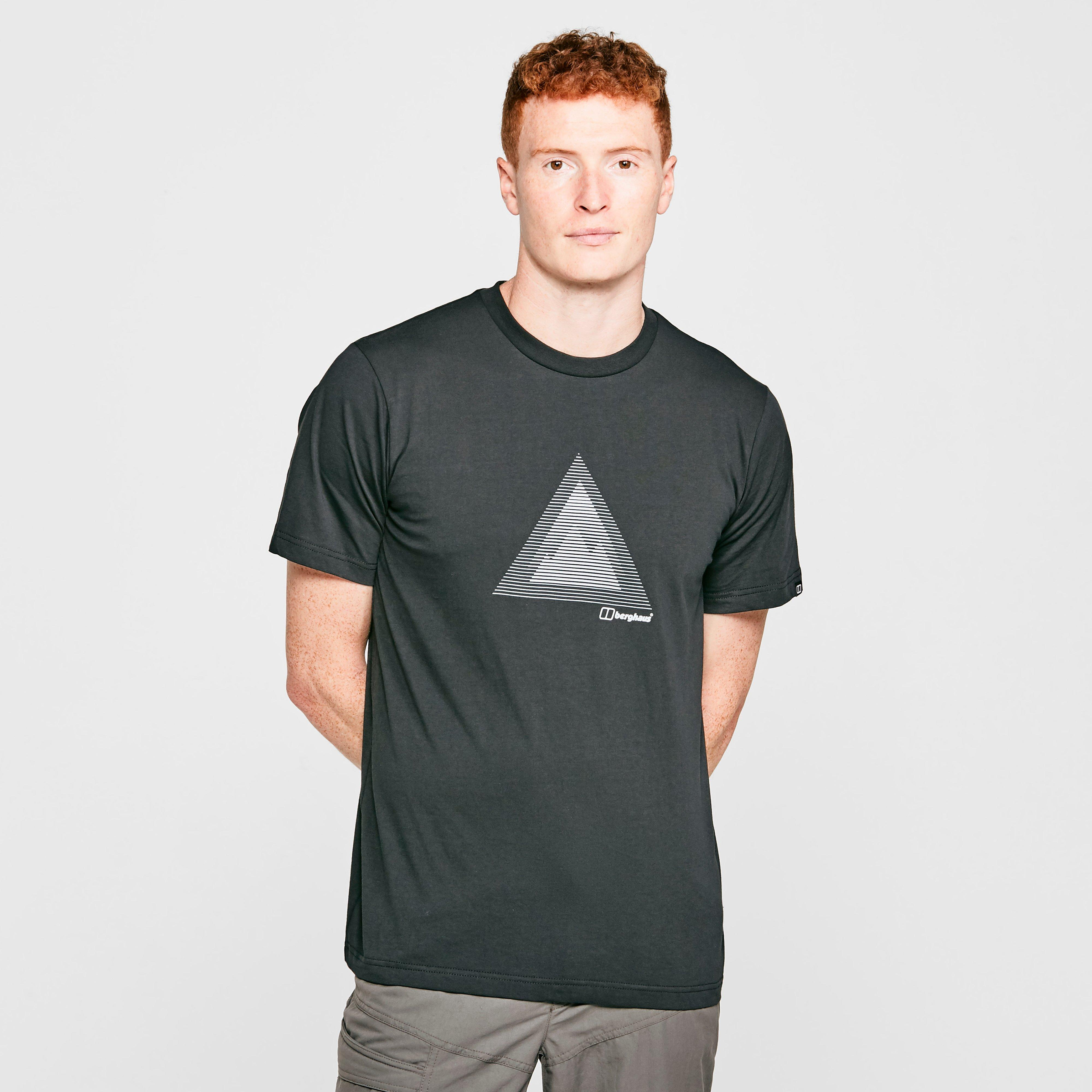 Berghaus Mens Modern Mountain T-shirt - Black/blk  Black/blk
