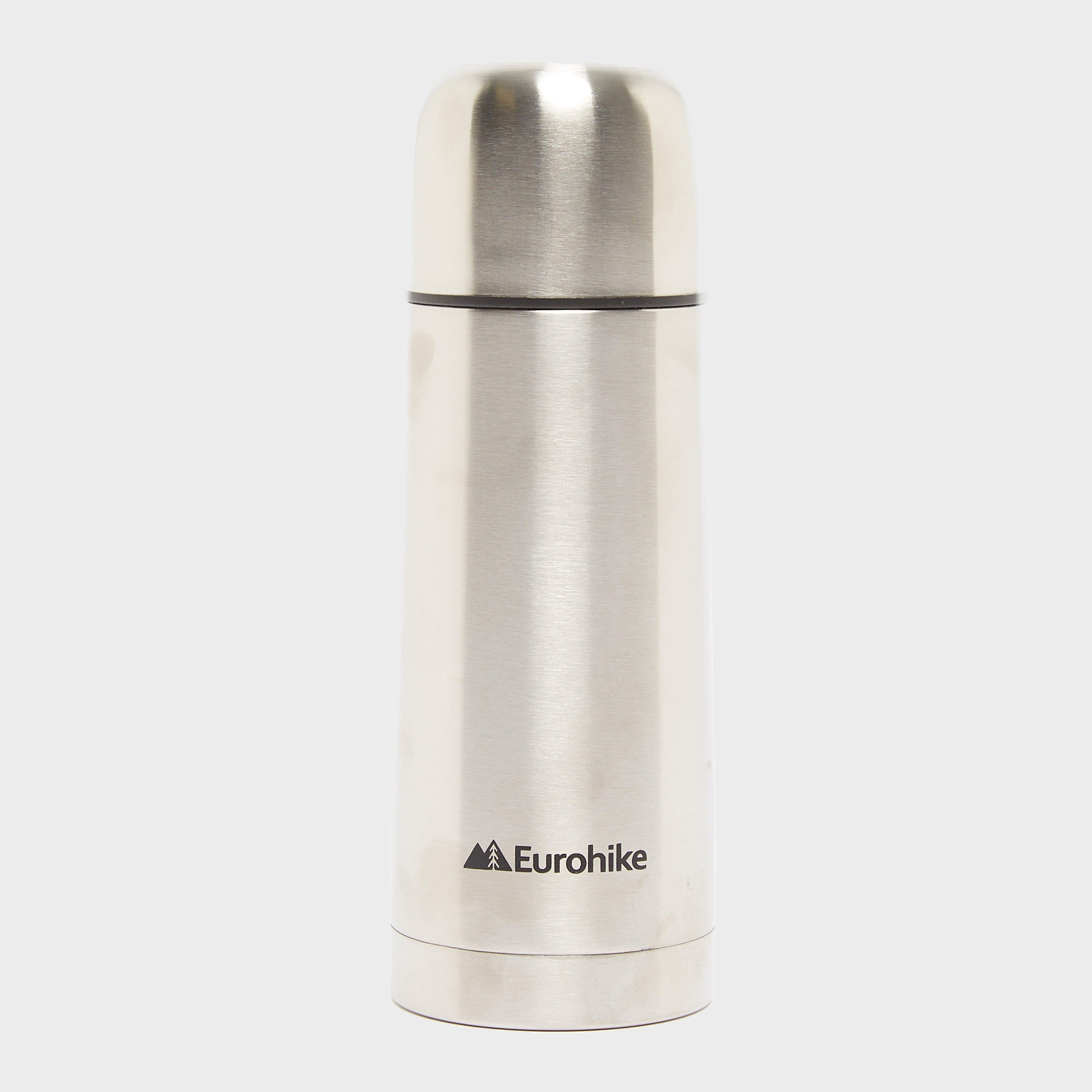 Eurohike Stainless Steel Flask 300ml - Silver/slv  Silver/slv