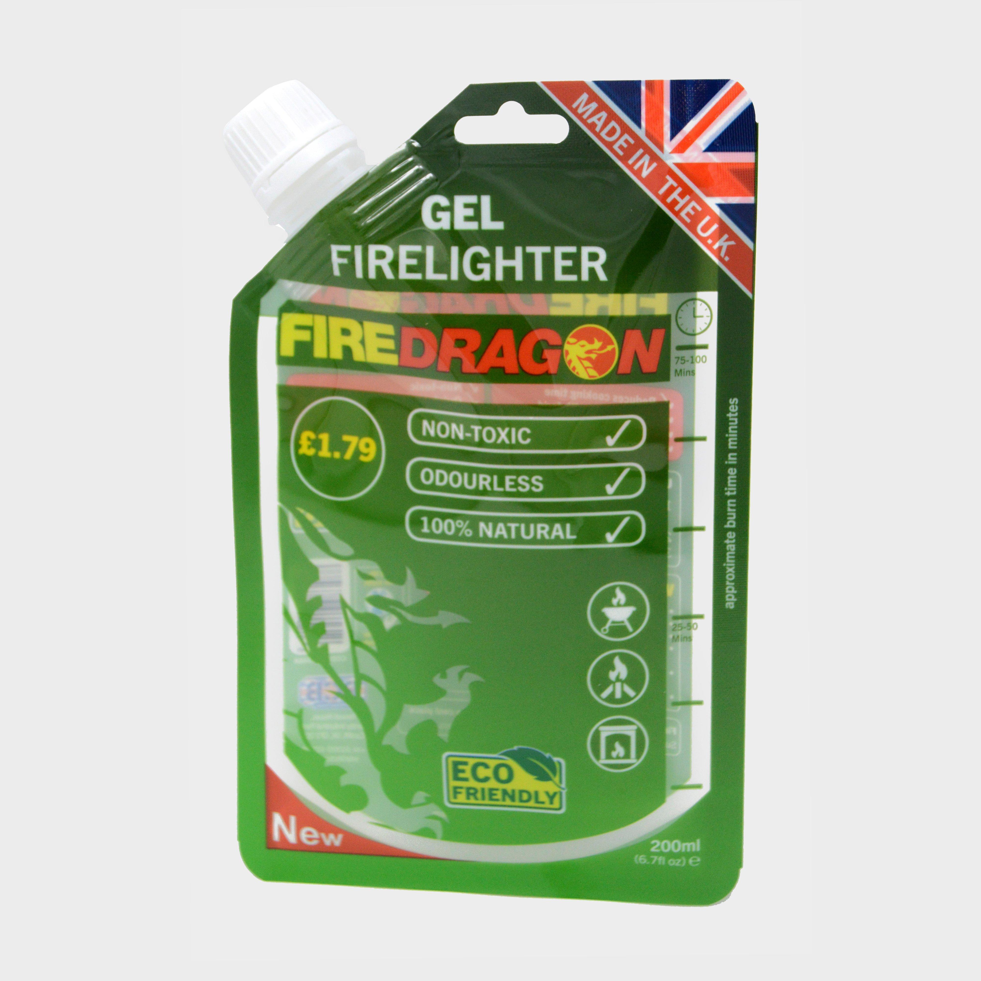 Fire Dragon Gel Fuel (200ml) - Green/no  Green/no