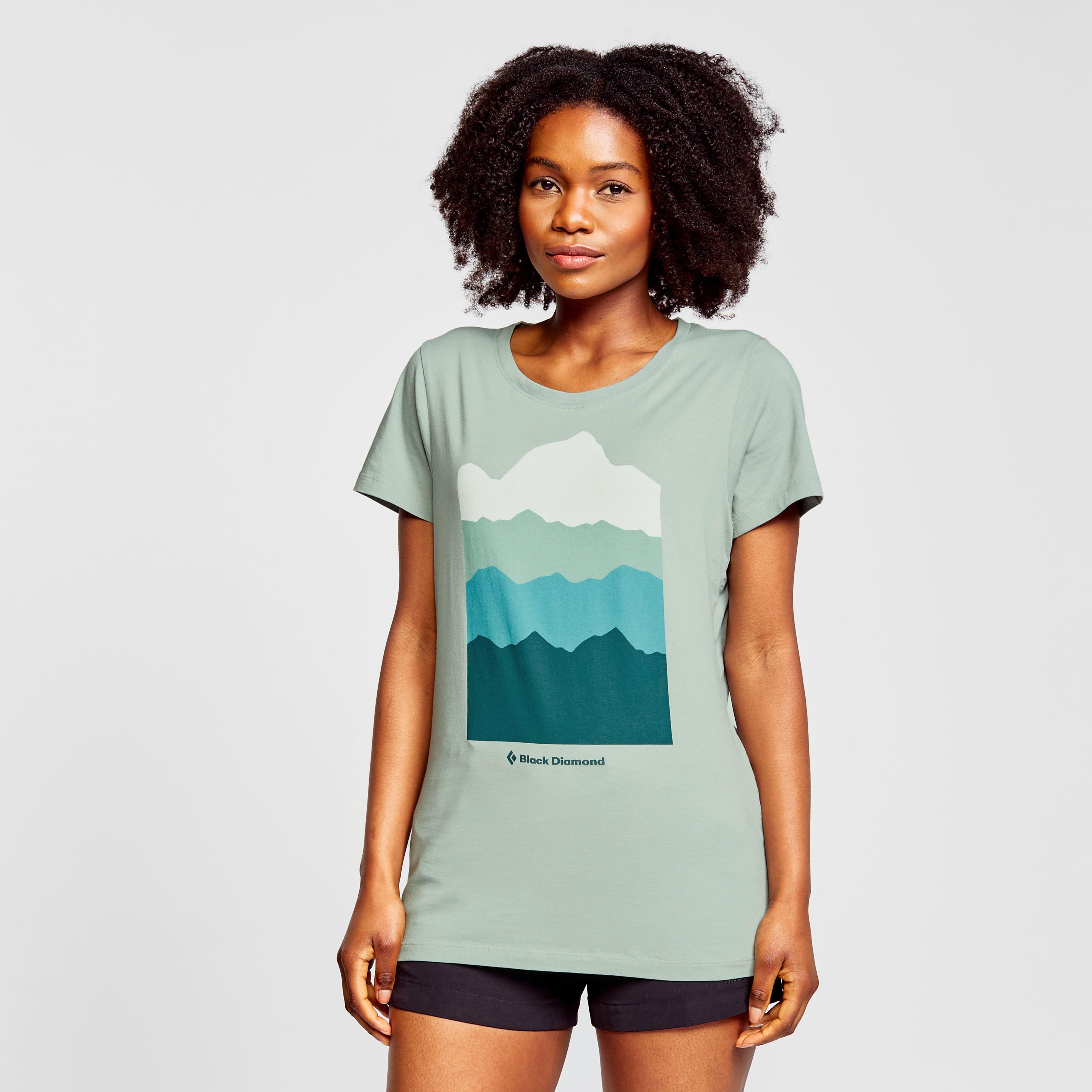 Black Diamond Womens Vista T-shirt - Lgy/lgy  Lgy/lgy