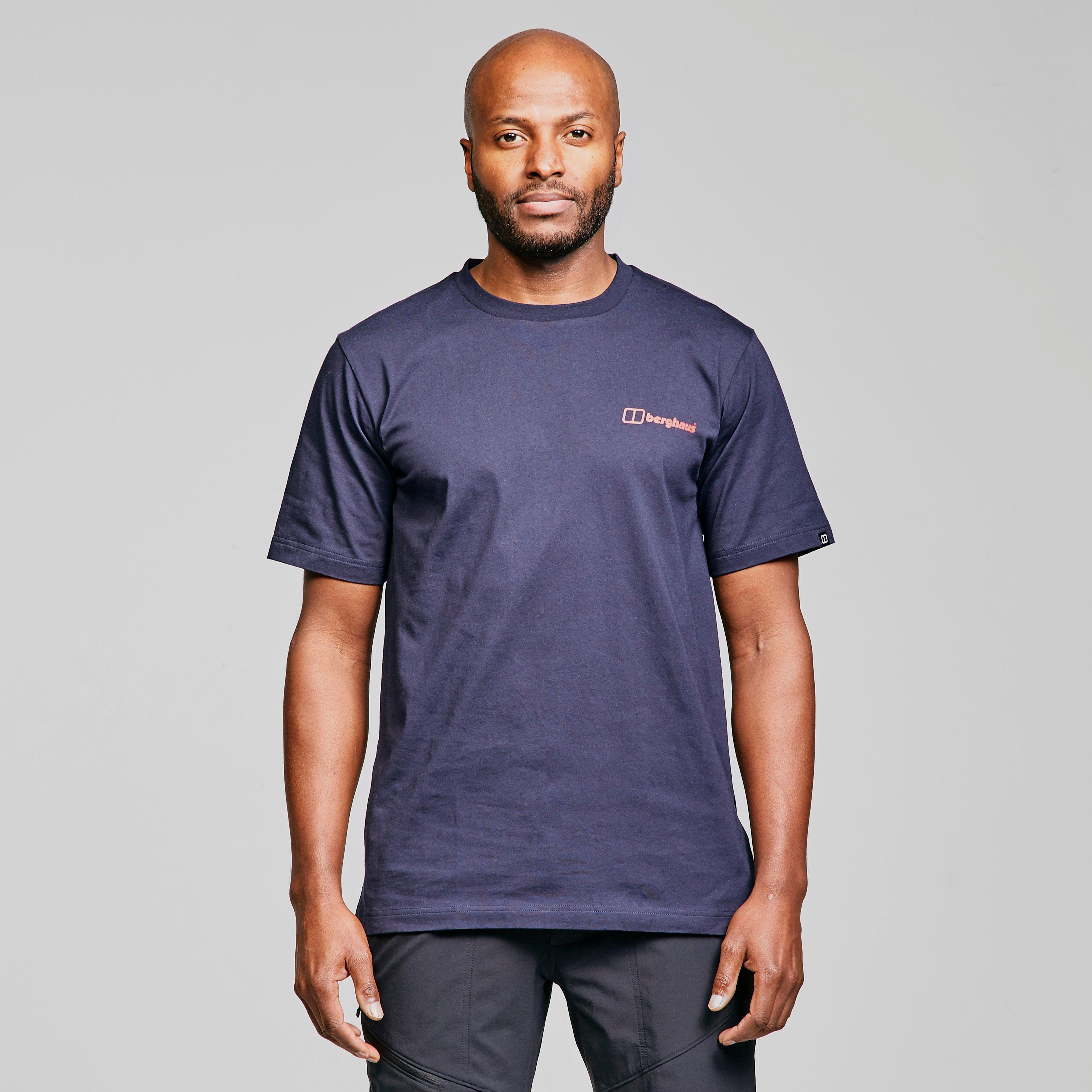 Berghaus Core Logo Short Sleeve T-shirt - Blue  Blue
