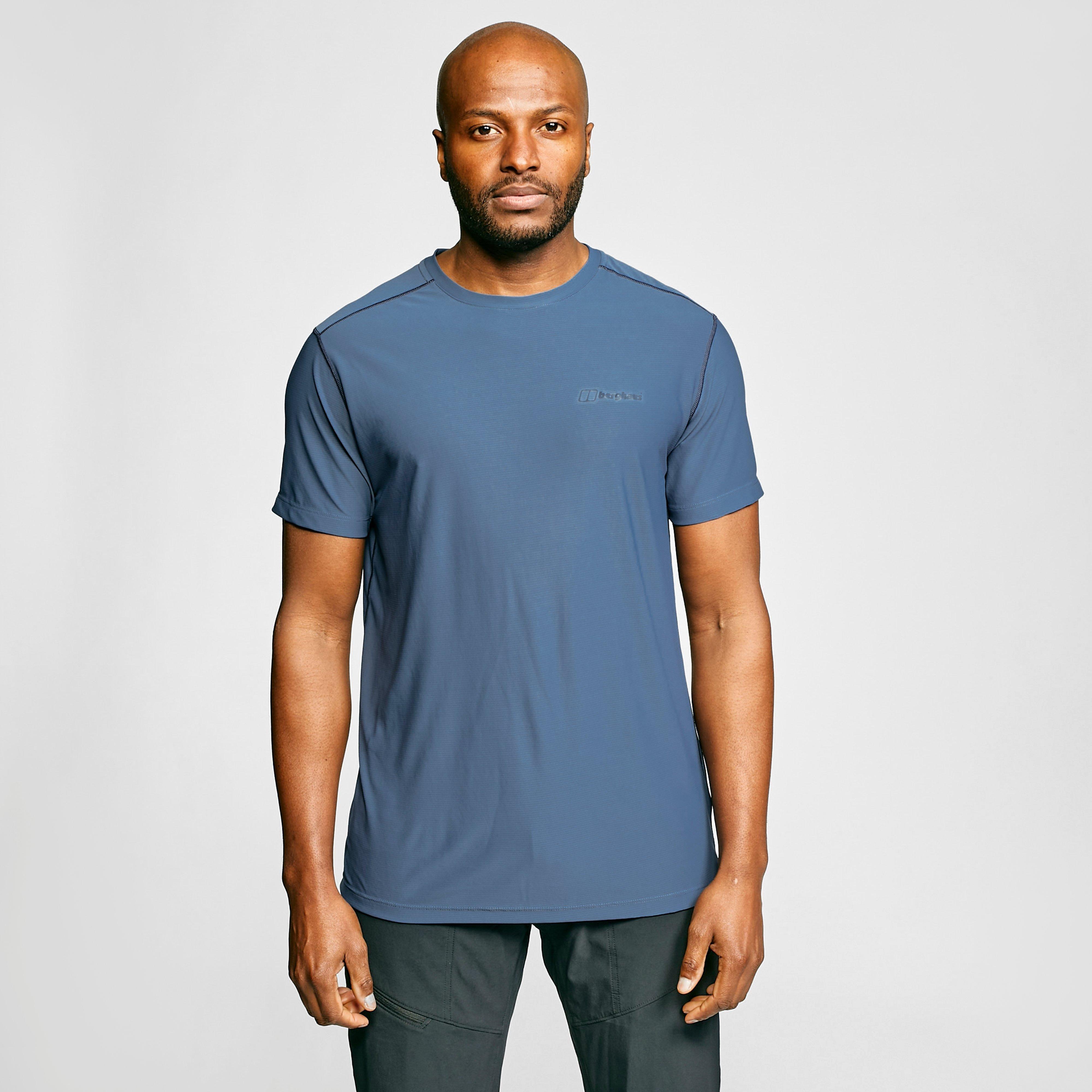 Berghaus Mens 24/7 Tech T-shirt - Blue  Blue