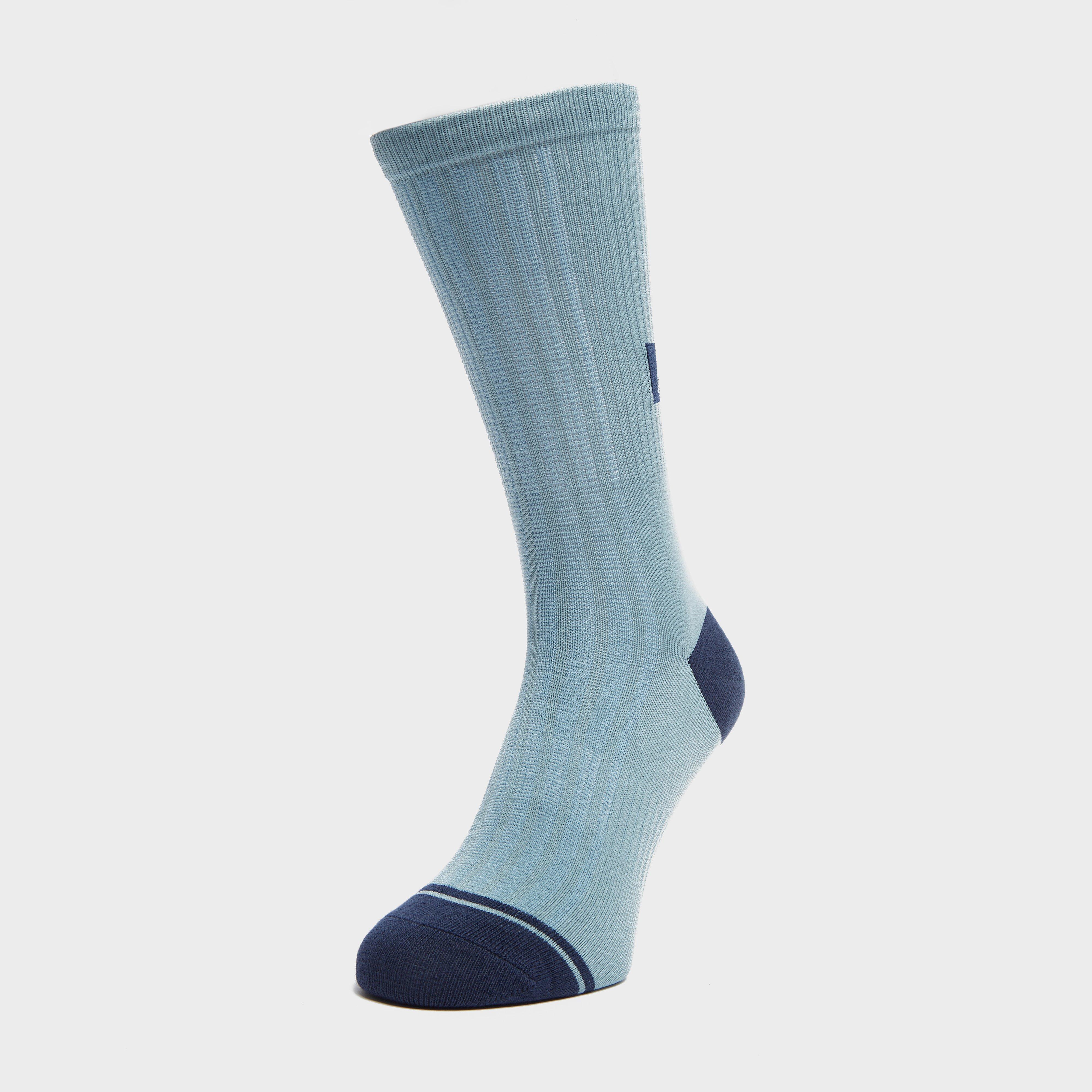 """Fox Women's 8"""" Trail Sock, Blue"""