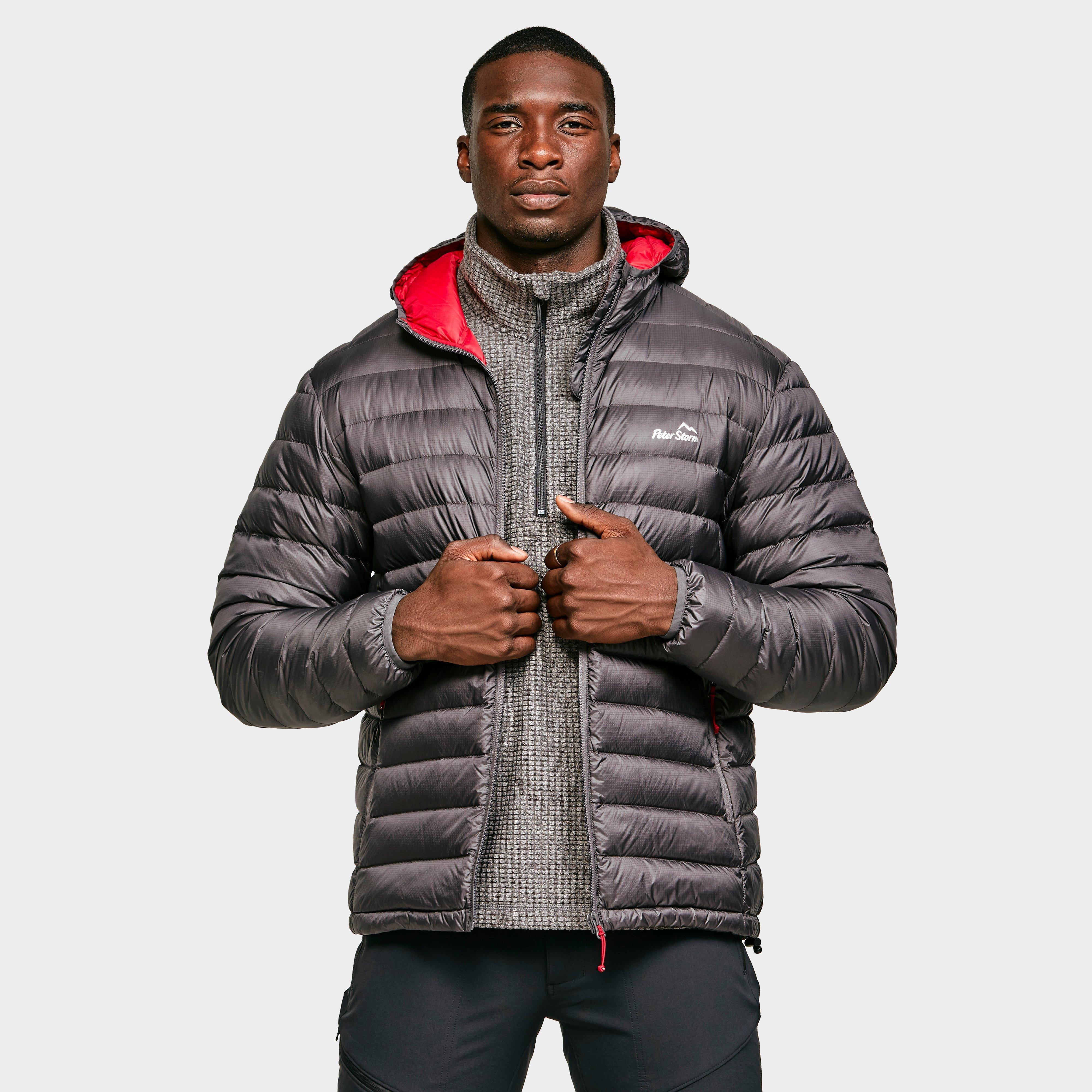 Peter Storm Mens Packlite Alpinist Down Jacket - Grey/dgy  Grey/dgy