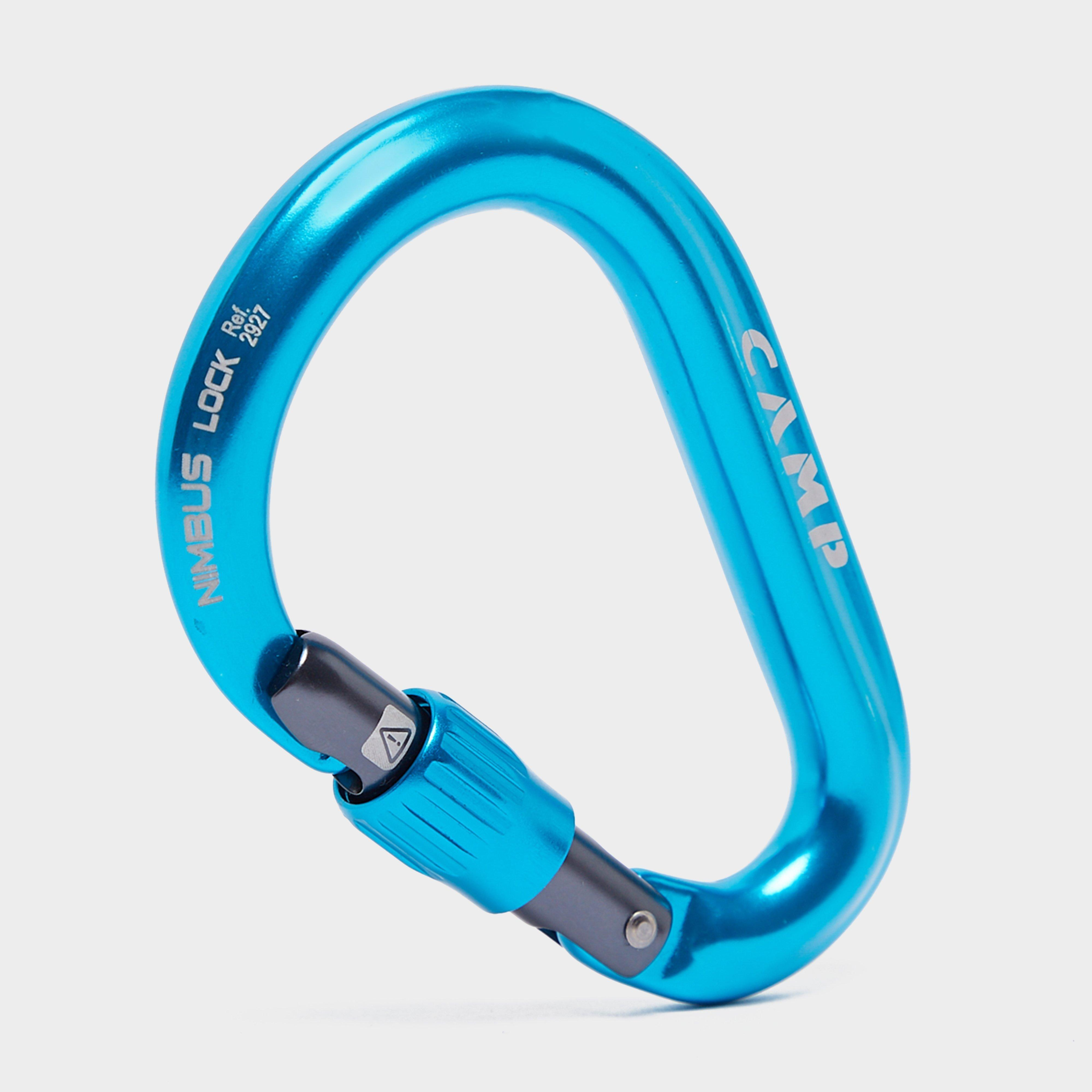 Camp Nimbus Hms Lock Carabiner - Blue/screwgate  Blue/screwgate