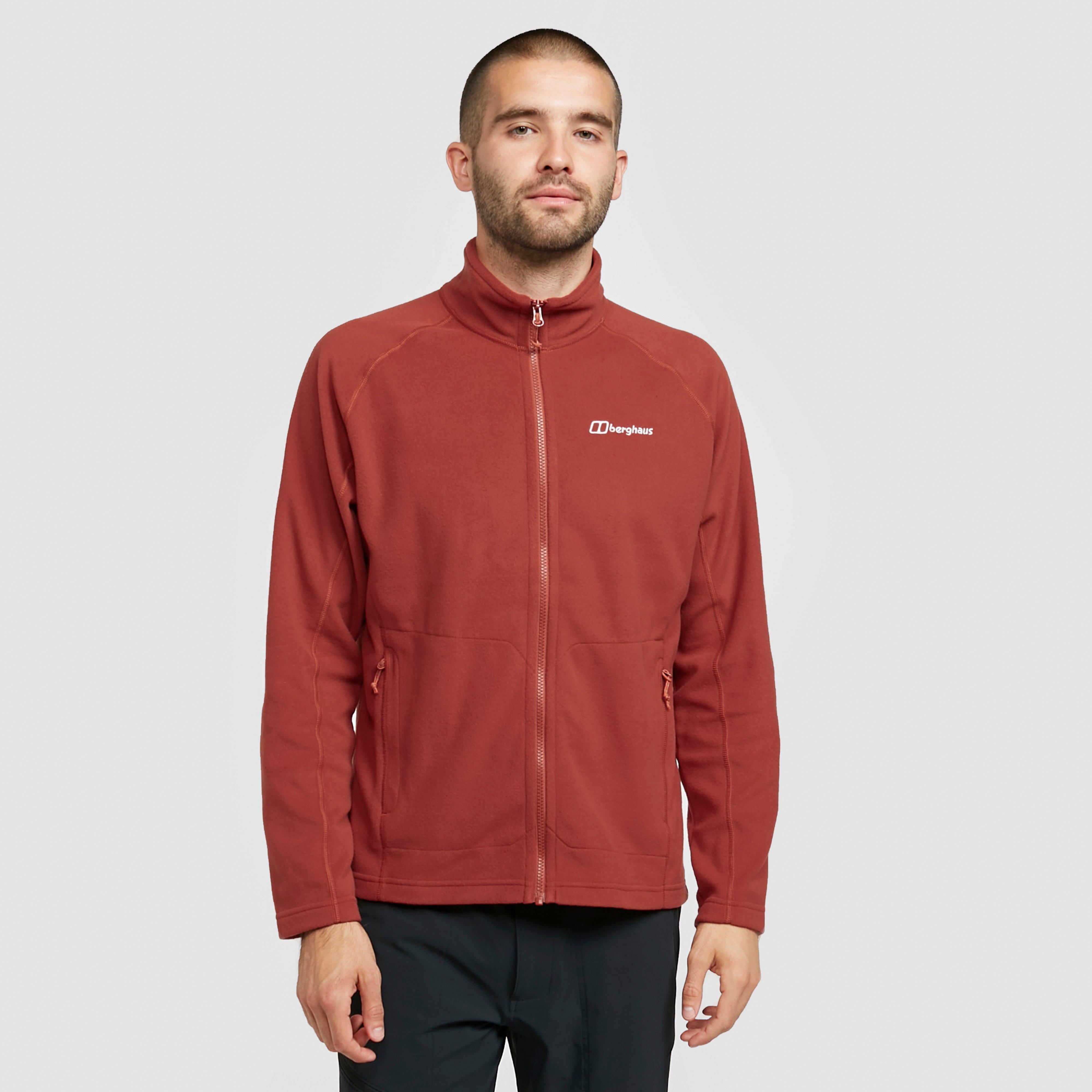 Berghaus Mens Hartsop Full-zip Fleece - Red  Red