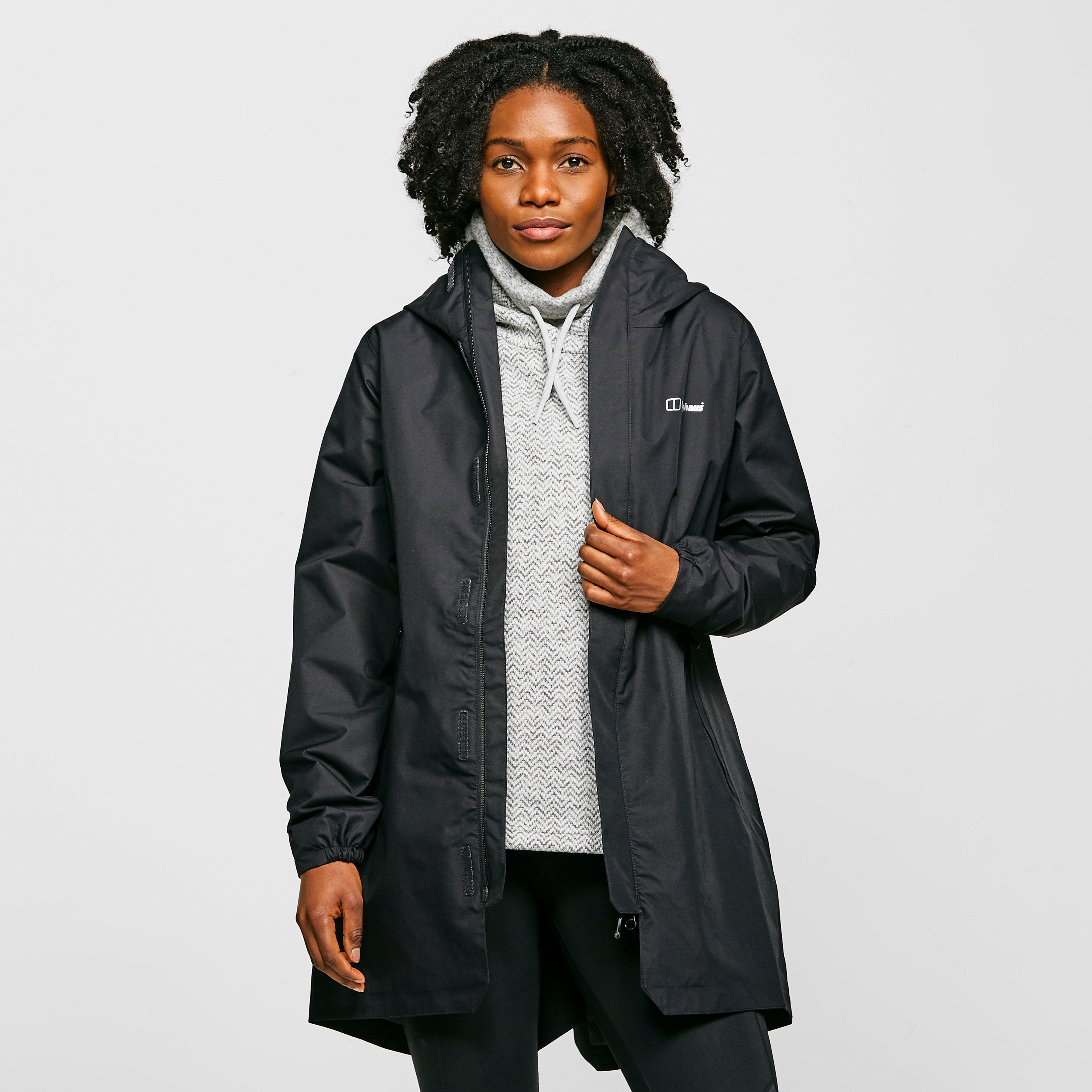 Berghaus Womens Commuter Waterproof Jacket - Black/blk  Black/blk