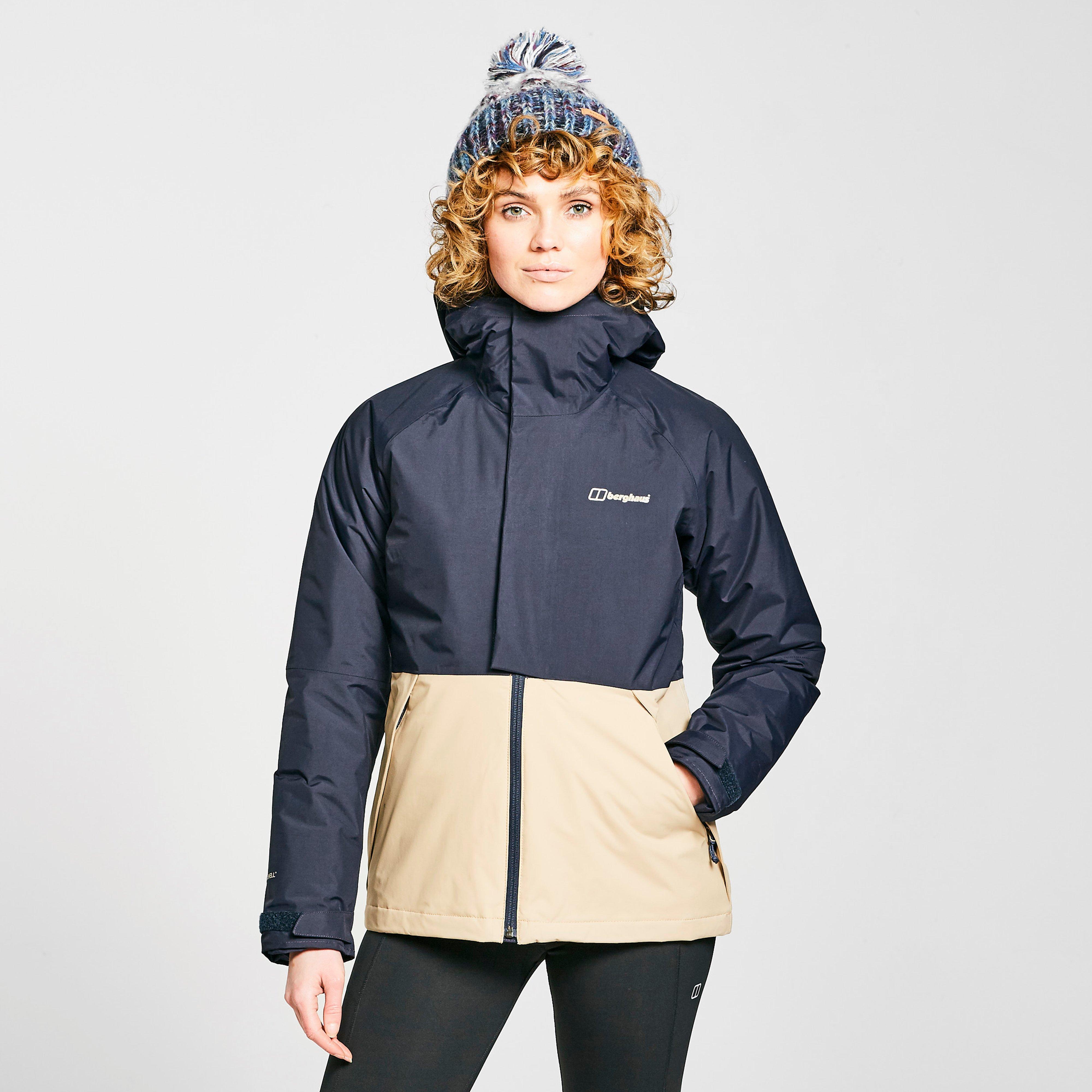 Berghaus Womens Rhyna Waterproof Jacket - Navy/nvy/crm  Navy/nvy/crm