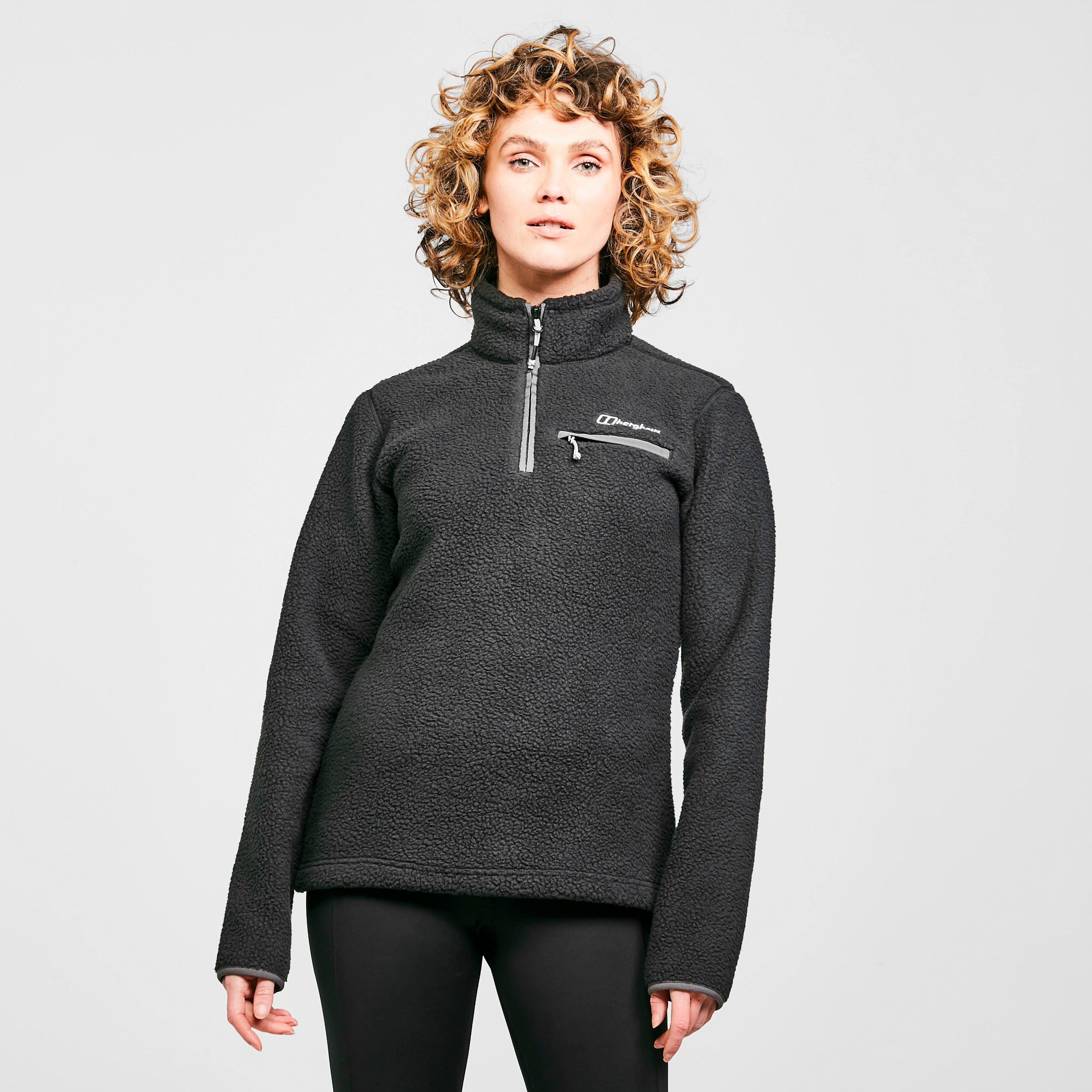 Berghaus Womens Darria Half Zip Fleece - Black/black  Black/black