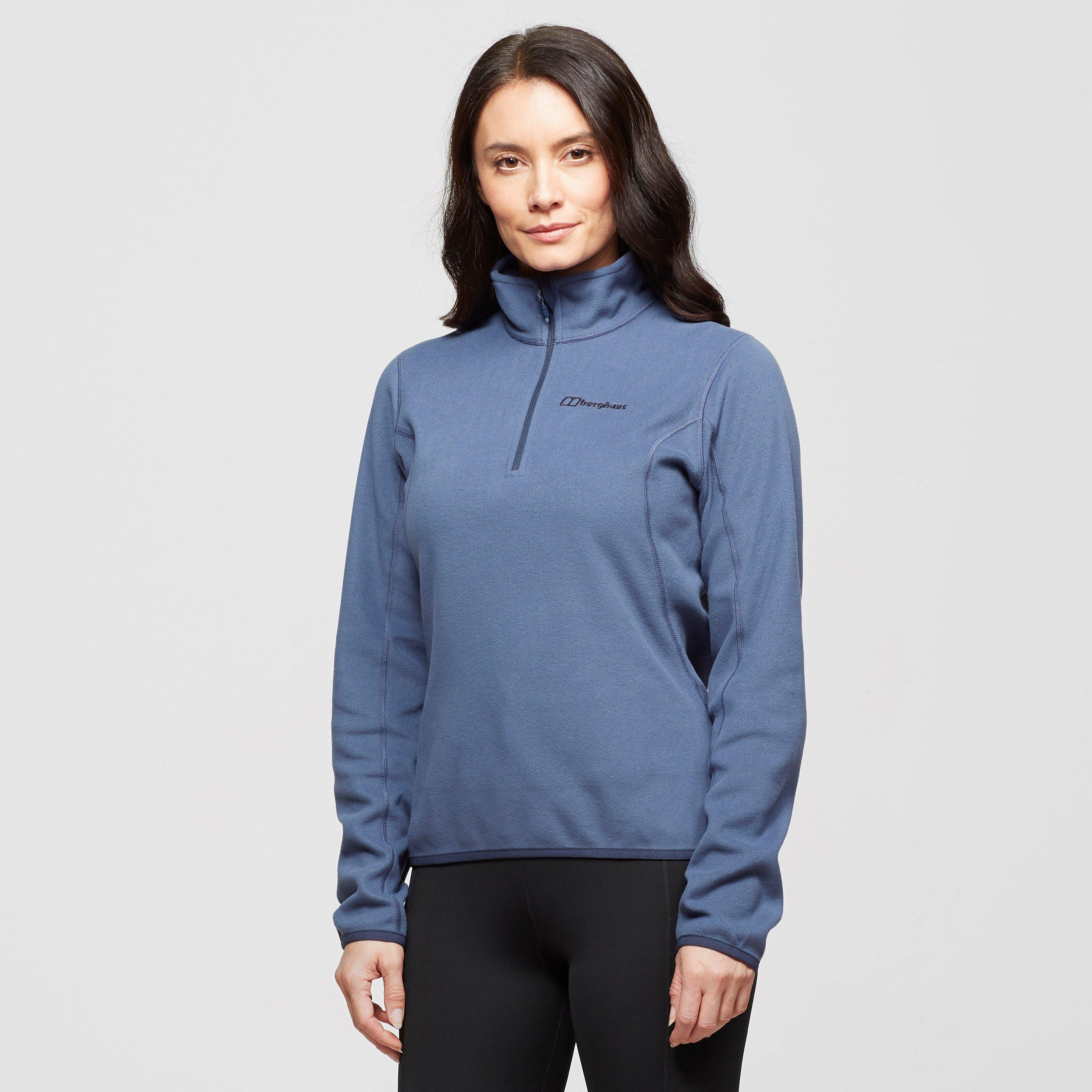 Berghaus Womens Hendra Half-zip Fleece - Blue/pur$  Blue/pur$